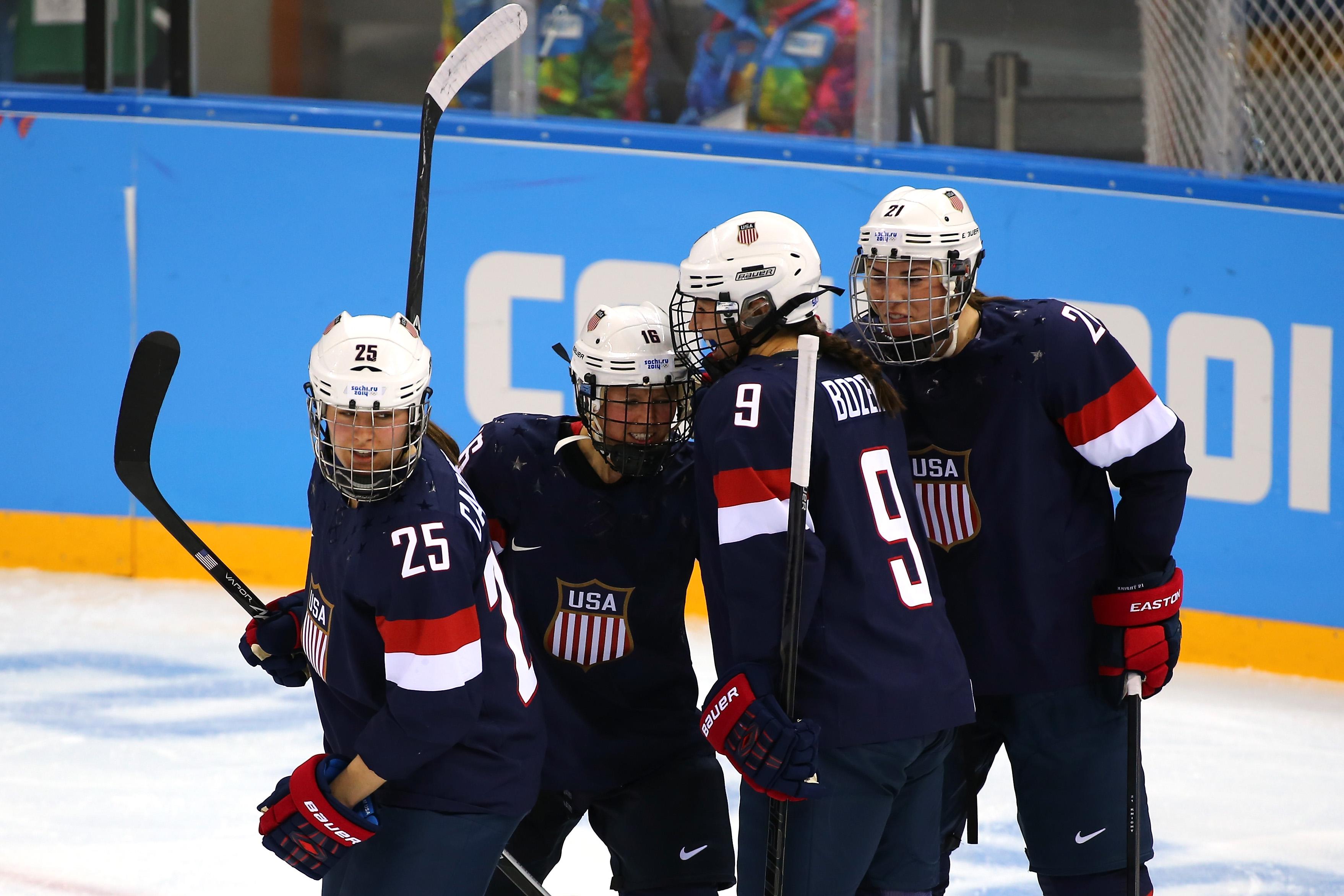 Women's Ice Hockey - United States vs Finland