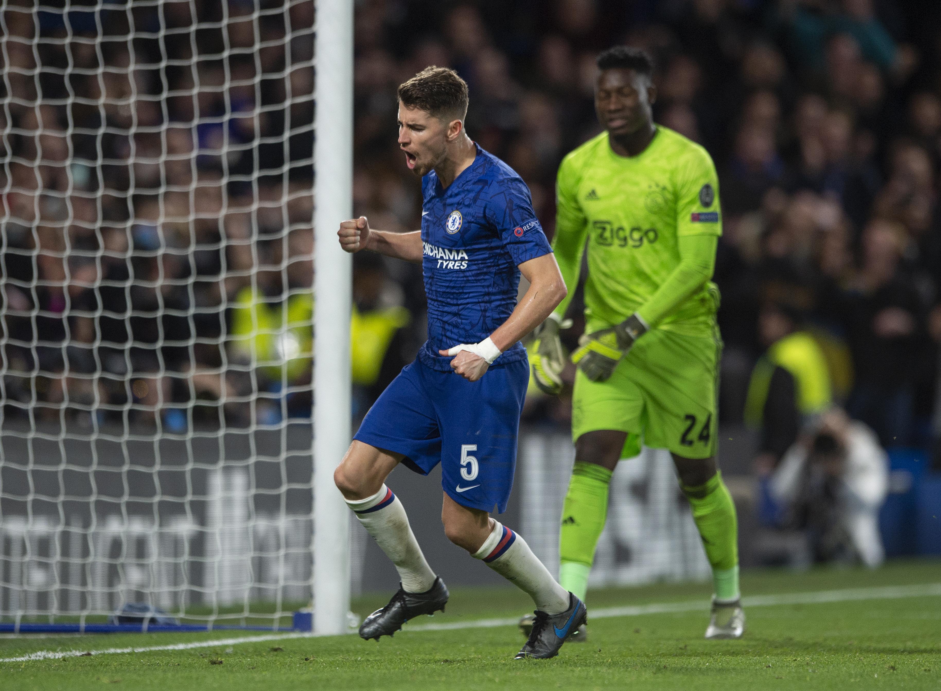 Jorginho: 'Vertical passing was never a problem'
