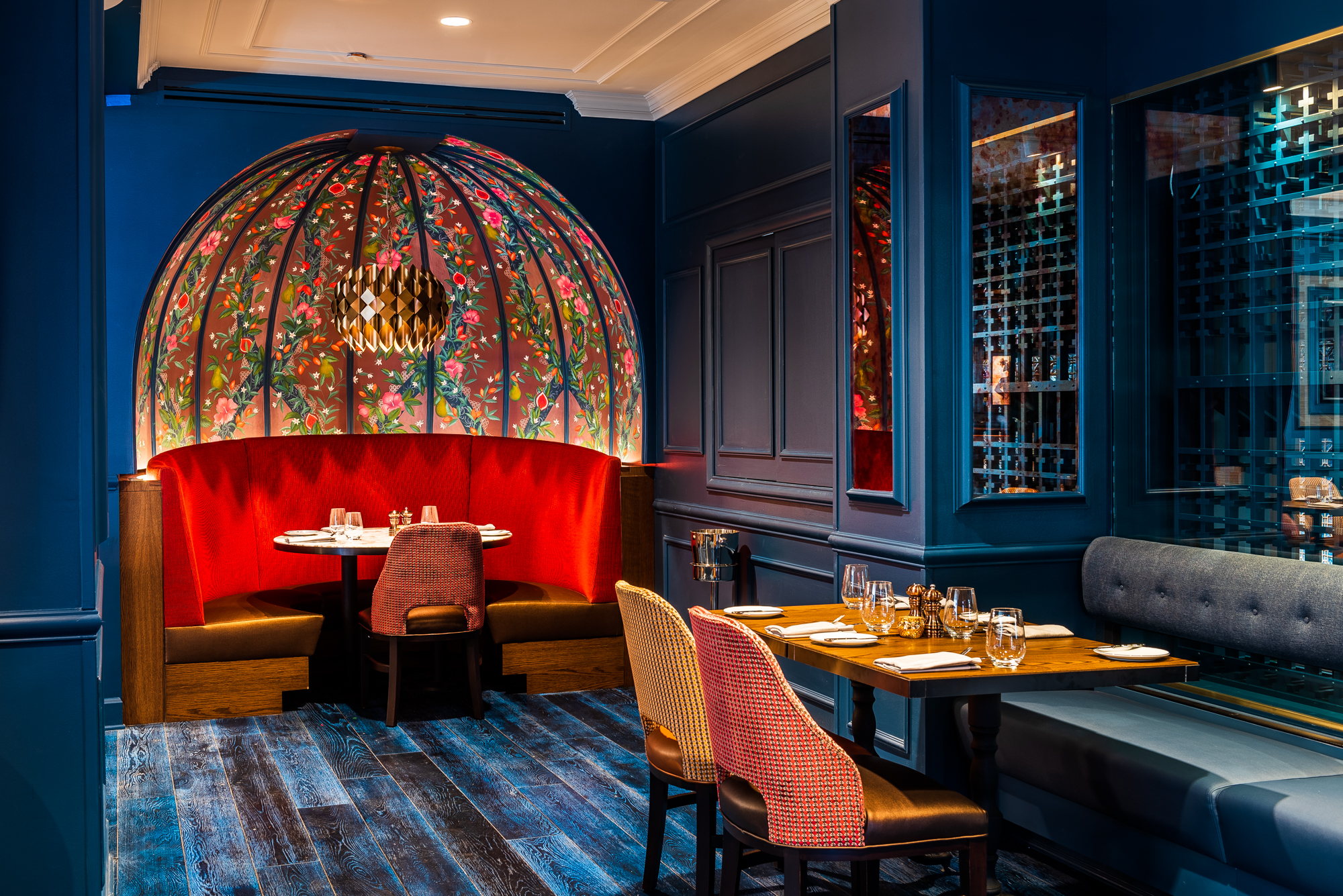 Brasserie Liberté Gives a Fusty Georgetown Steakhouse a Revolutionary Redesign