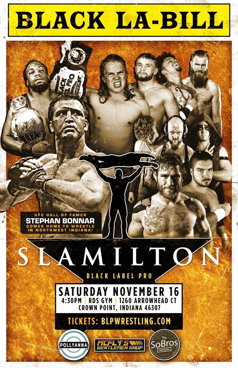Poster for BLP Slamilton 2