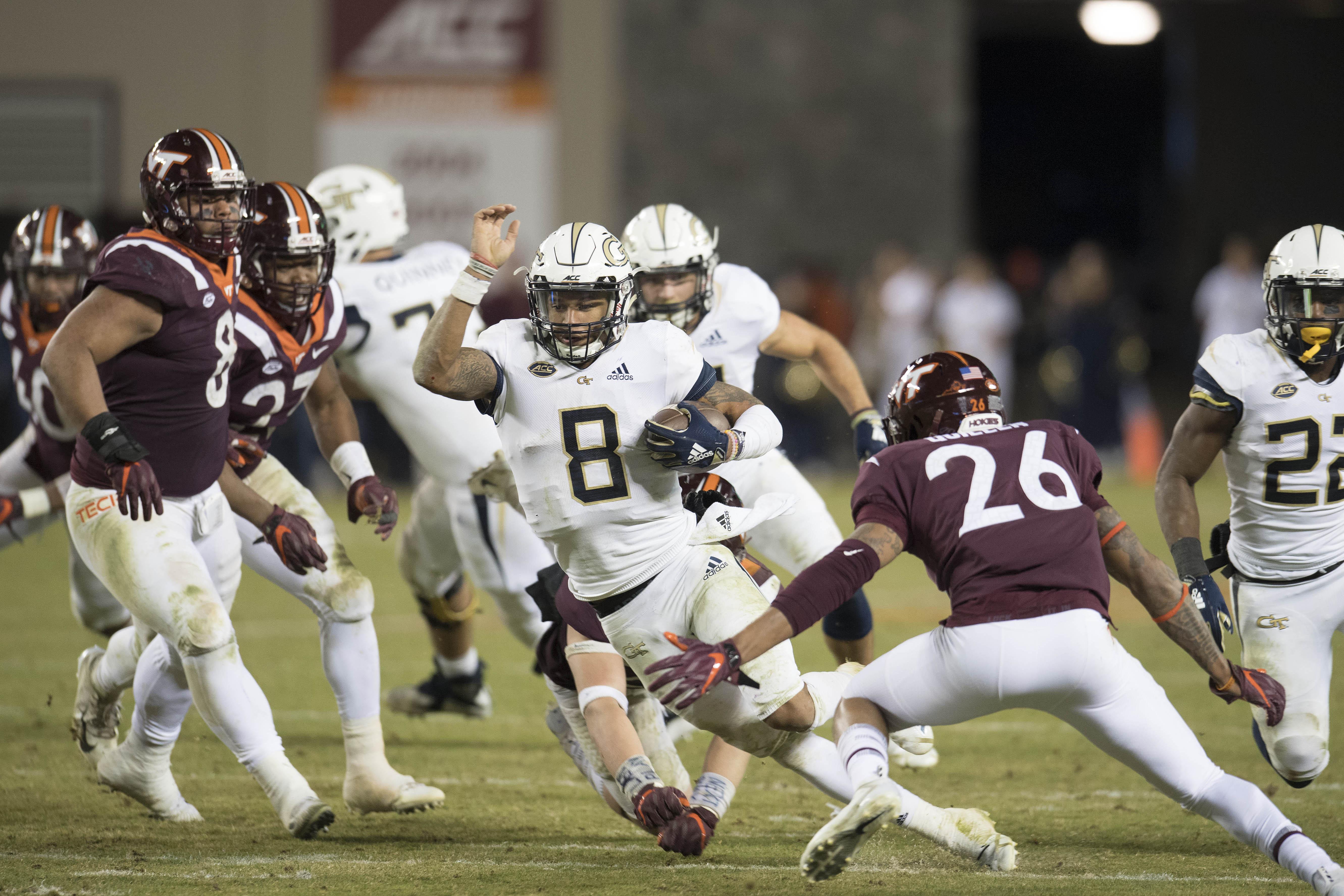 NCAA Football: Georgia Tech at Virginia Tech