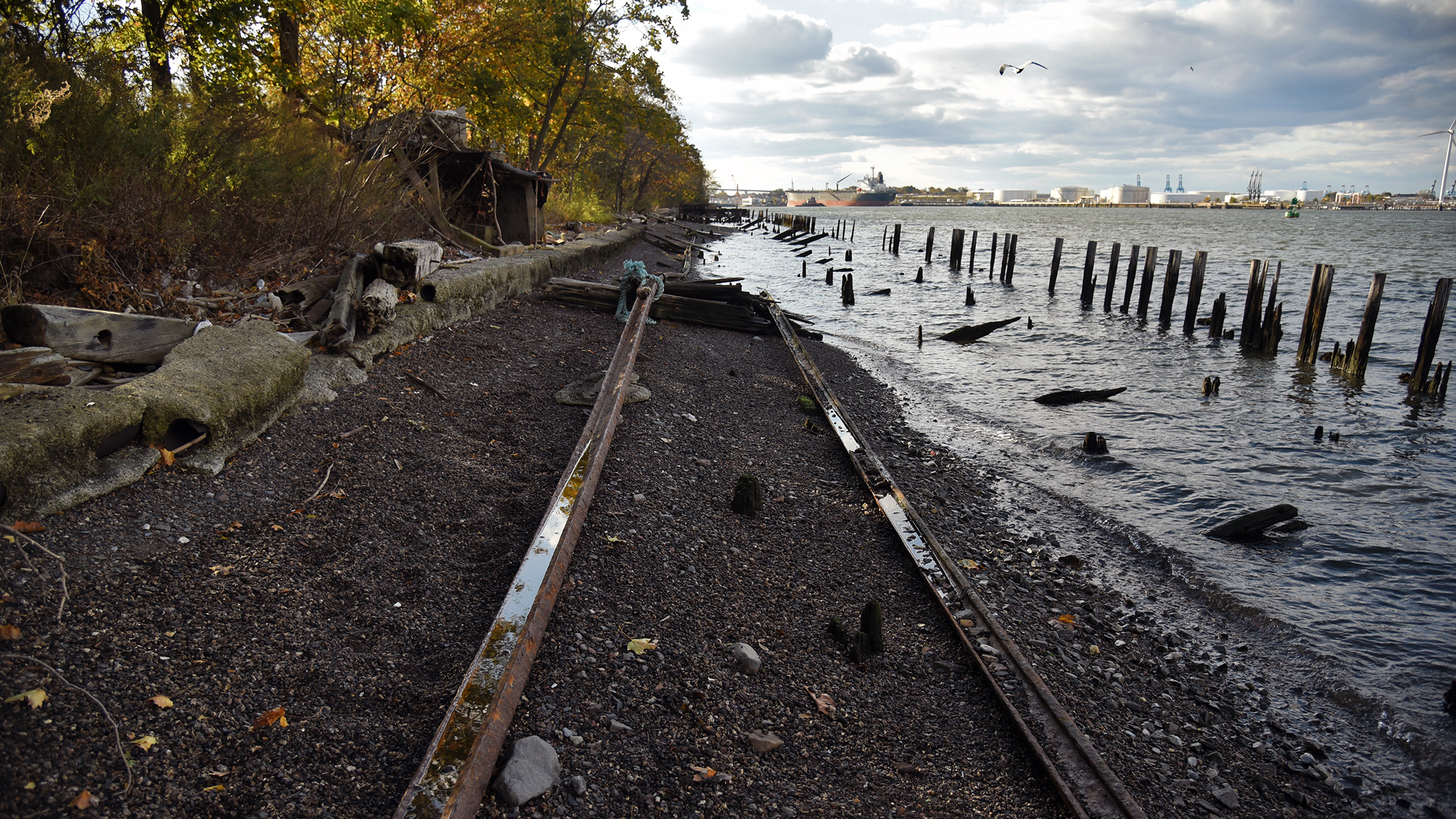 Exploring Staten Island's hidden North Shore Branch, eyed for a new bus line
