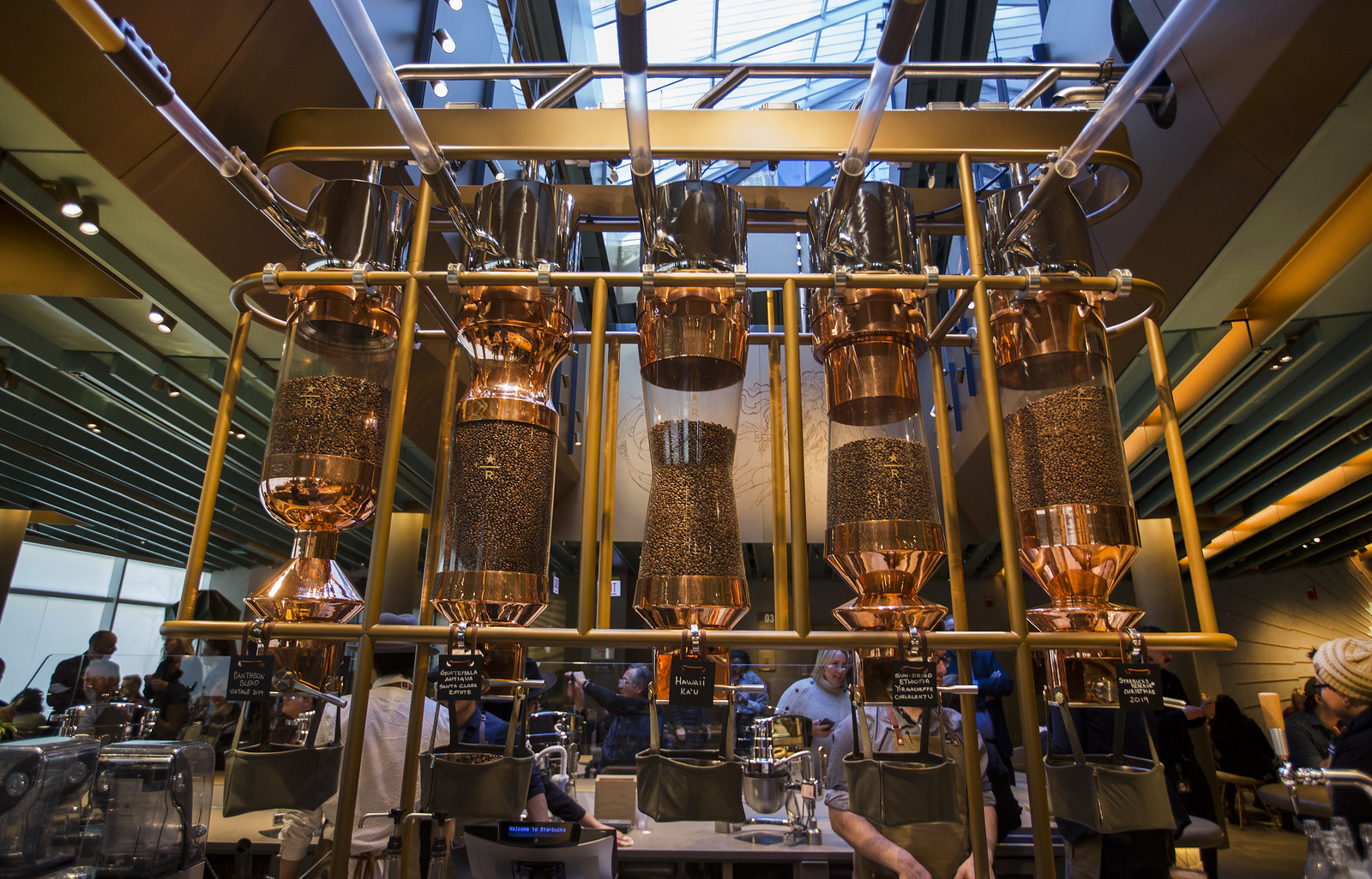 The World's Largest Starbucks Will Roast 200,000 Pounds of Coffee Annually