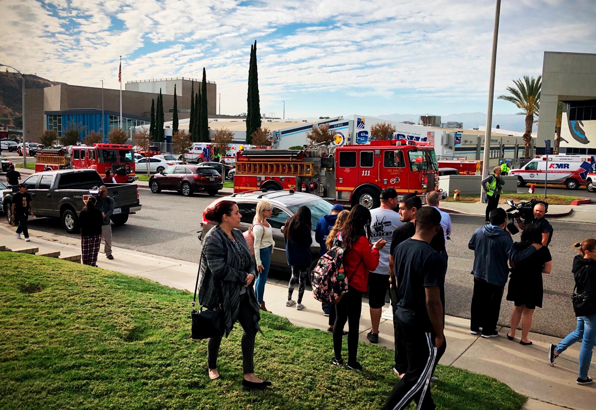 Saugus High School shooting in Santa Clarita, California: what we know