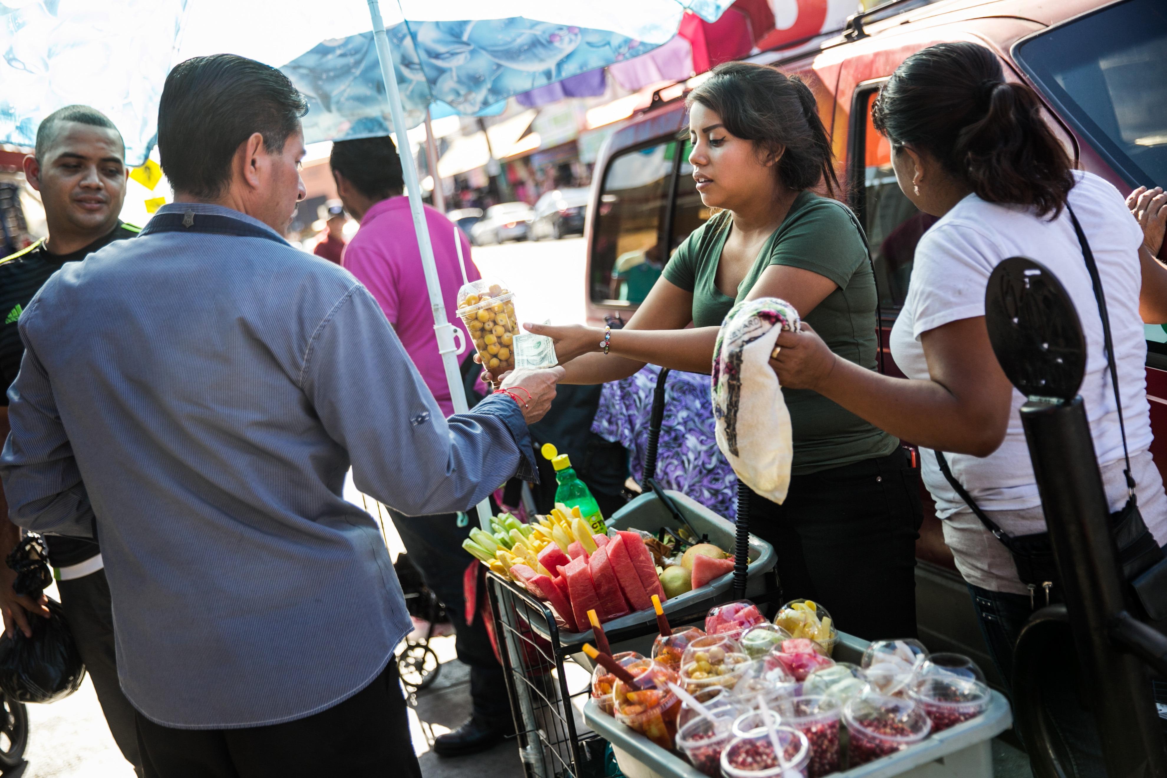 Why street vendors make cities feel safer