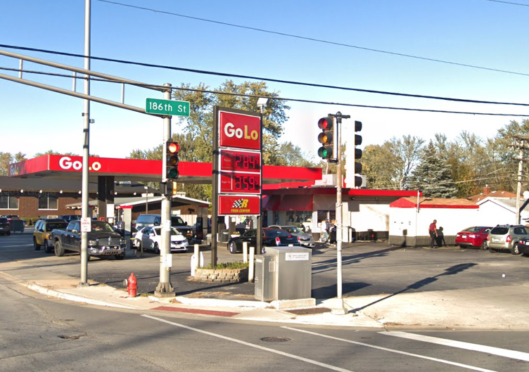 Two men were shot at a GoLo gas station at 18595 Torrence Ave. in Lansing on Nov. 14, 2019.