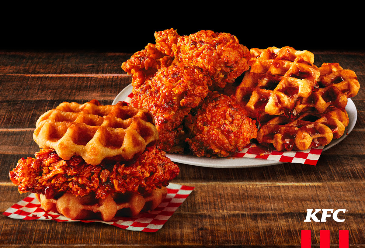 KFC Unveils Nashville Hot Chicken and Waffles For a Limited Time