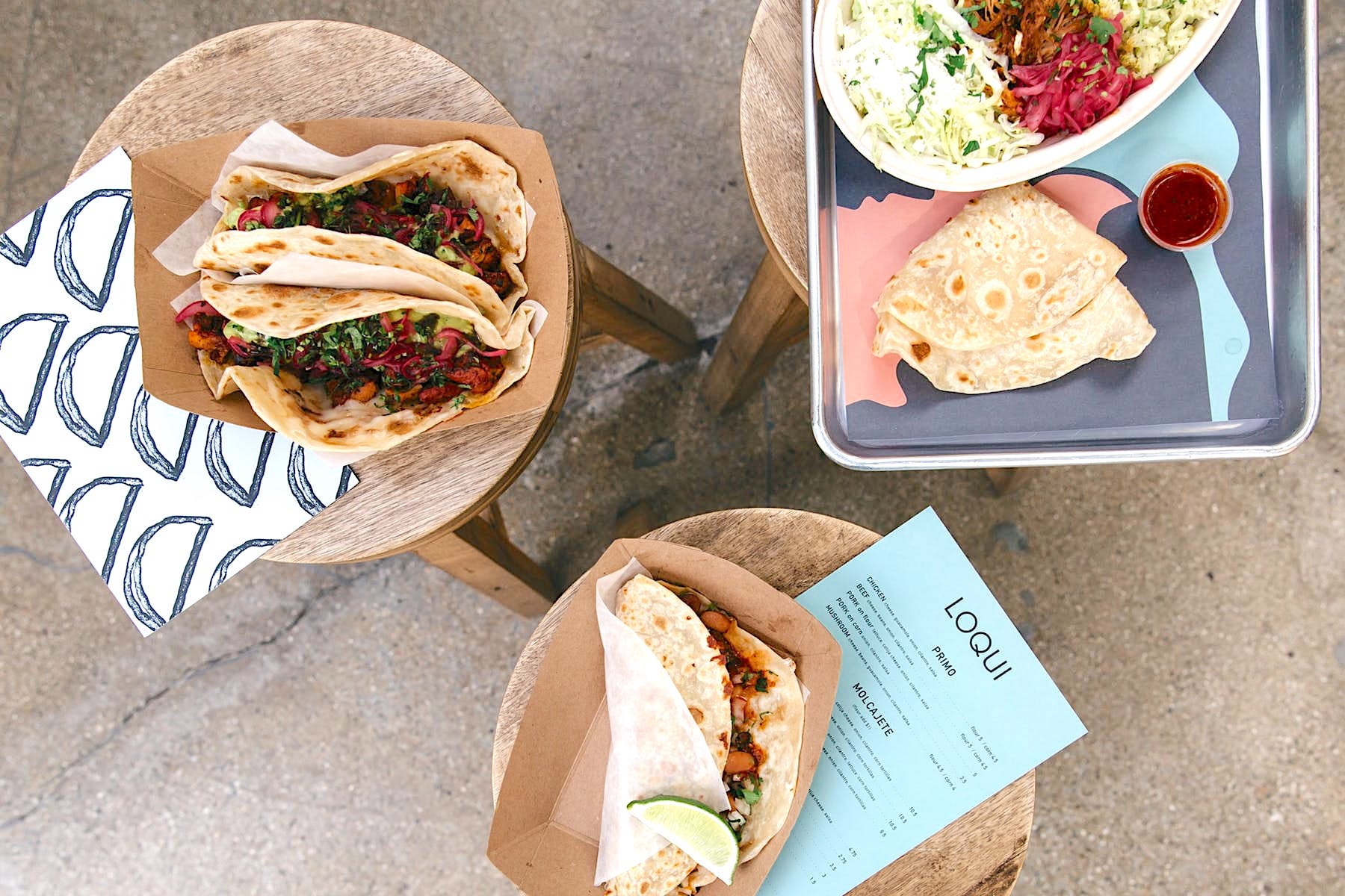 Some of LA's Best Flour Tortilla Tacos are Now Available in the Arts District