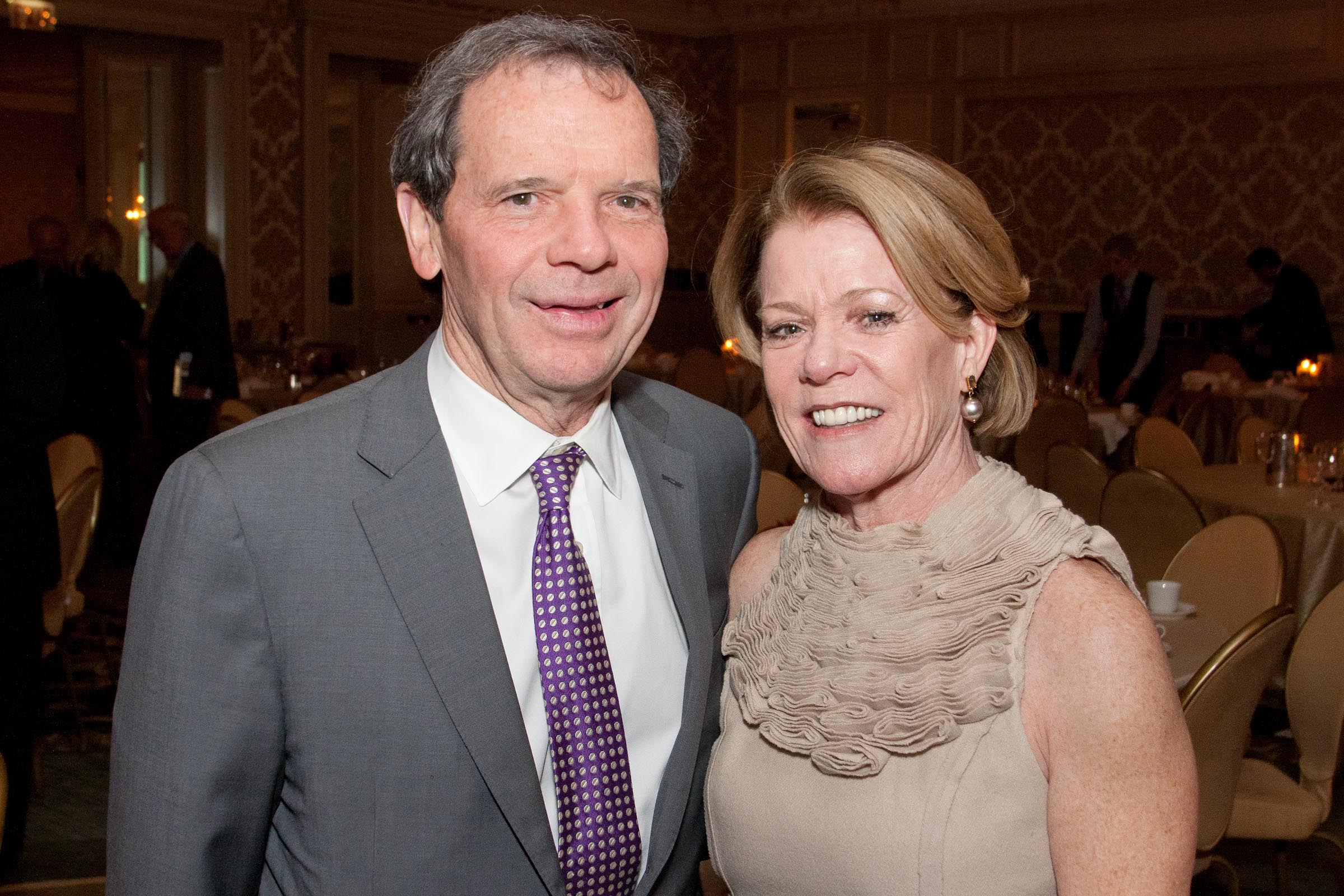 State Sen. John Cullerton and Pam Cullerton in 2012.