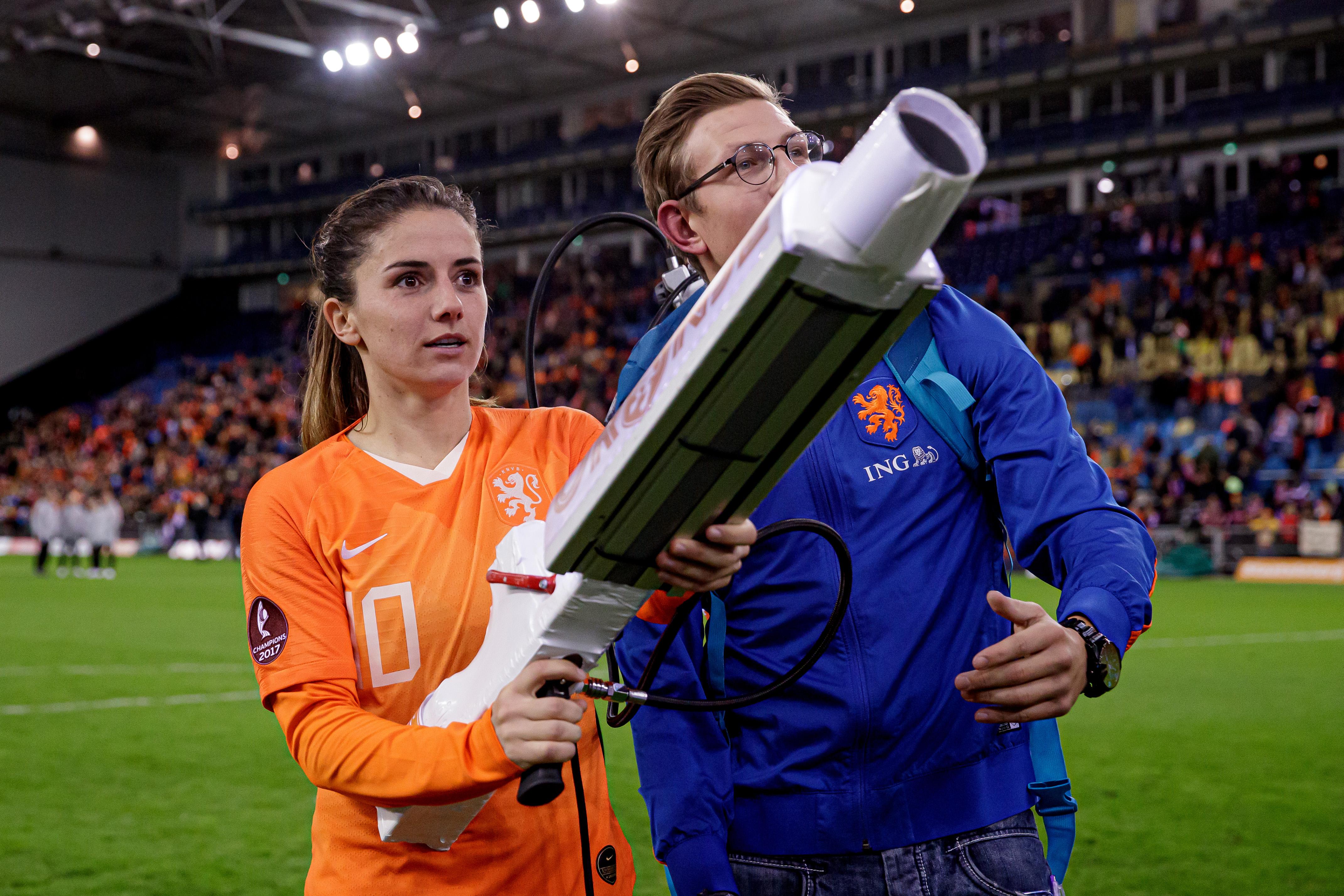 Holland v Slovenia -EURO Qualifier Women