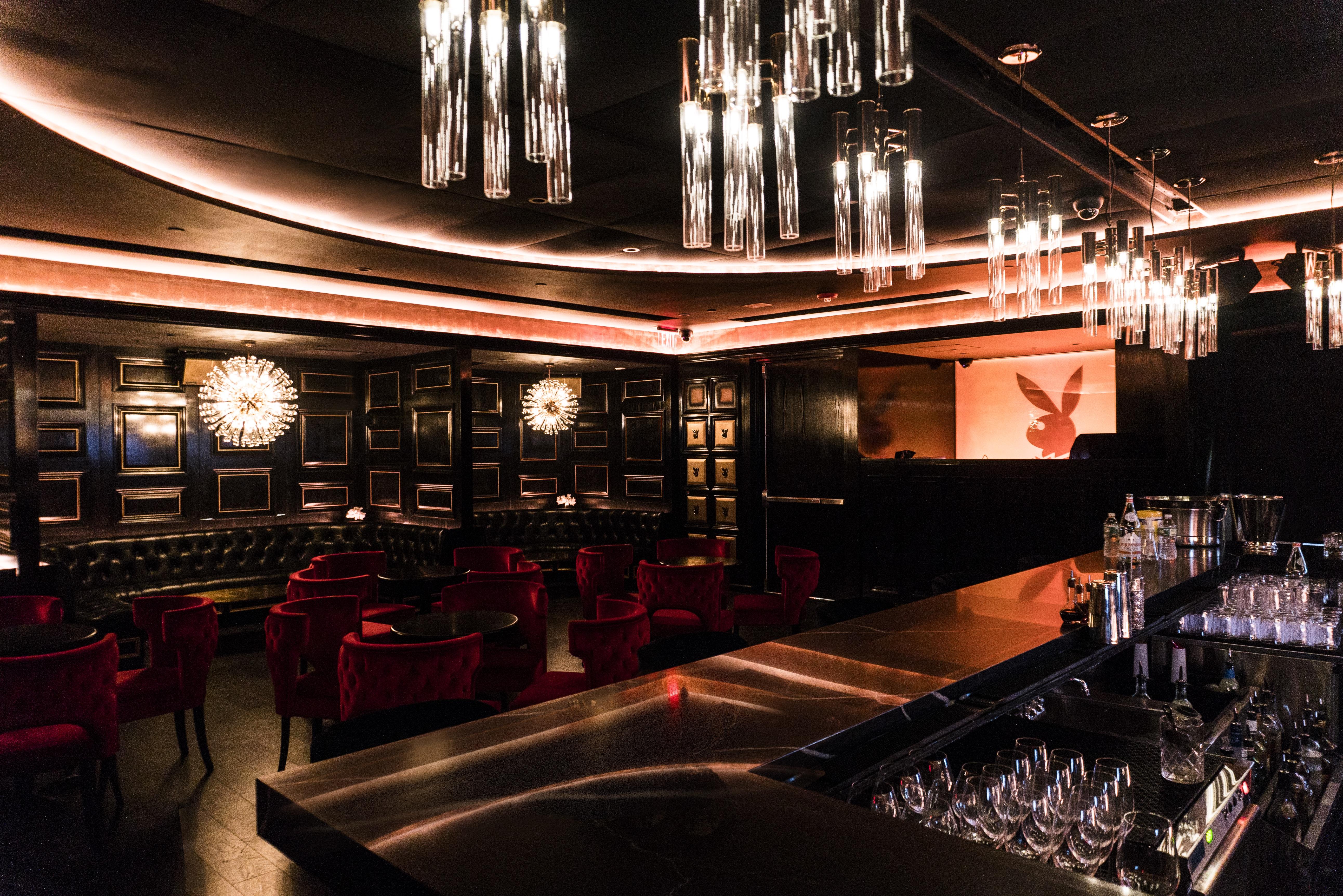 Playboy Bar at the Playboy Club NYC
