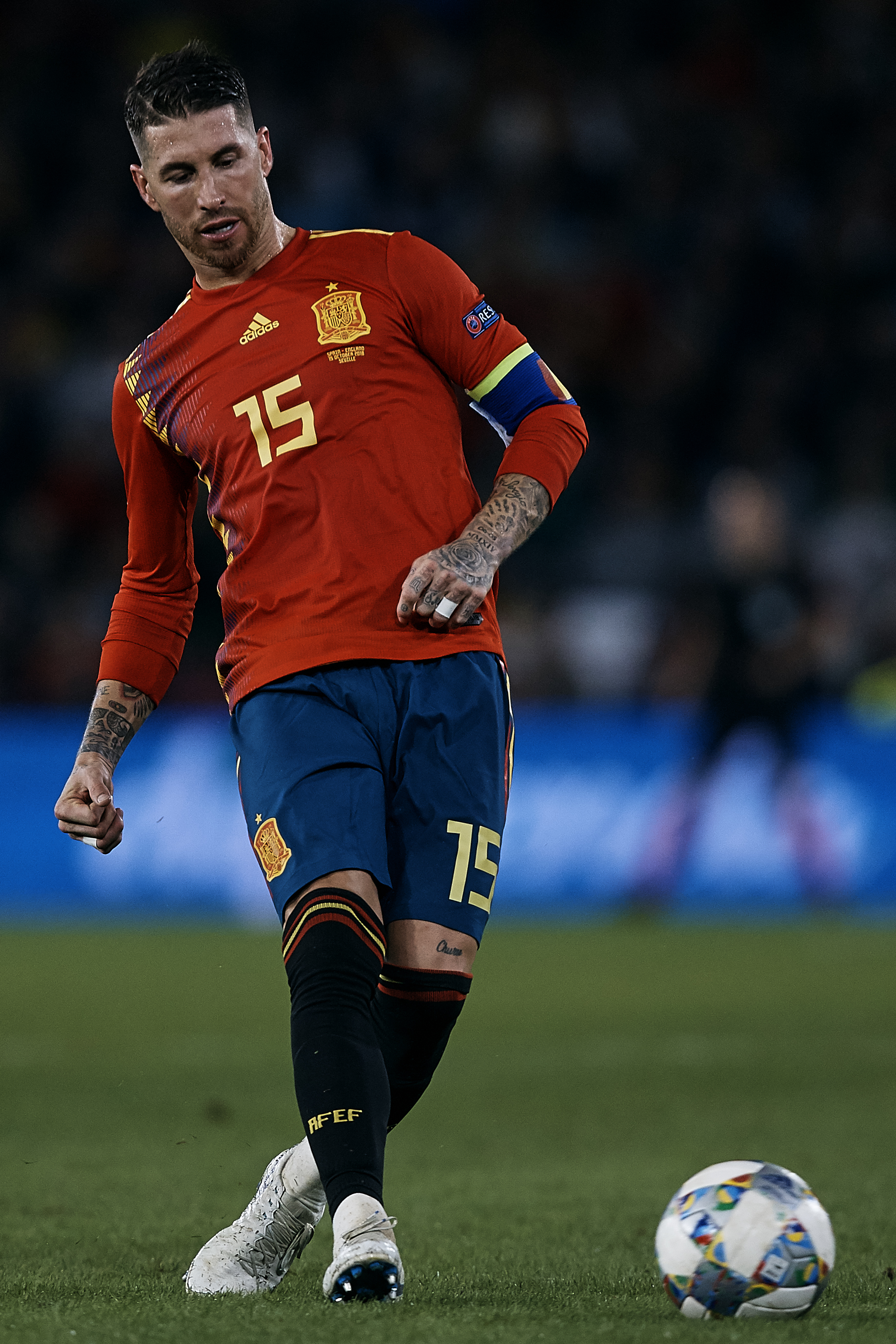 Spain v England - UEFA Nations League A