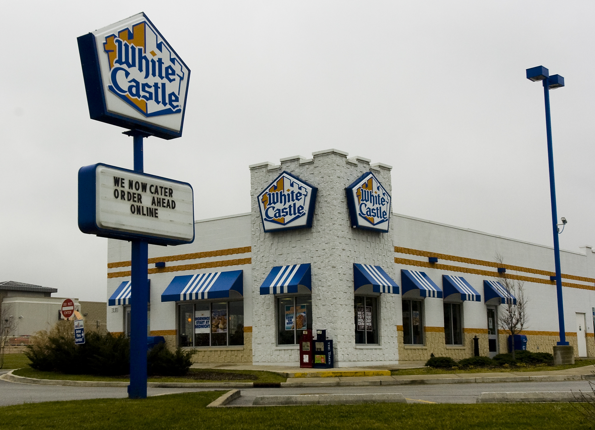 Exterior of White Castle
