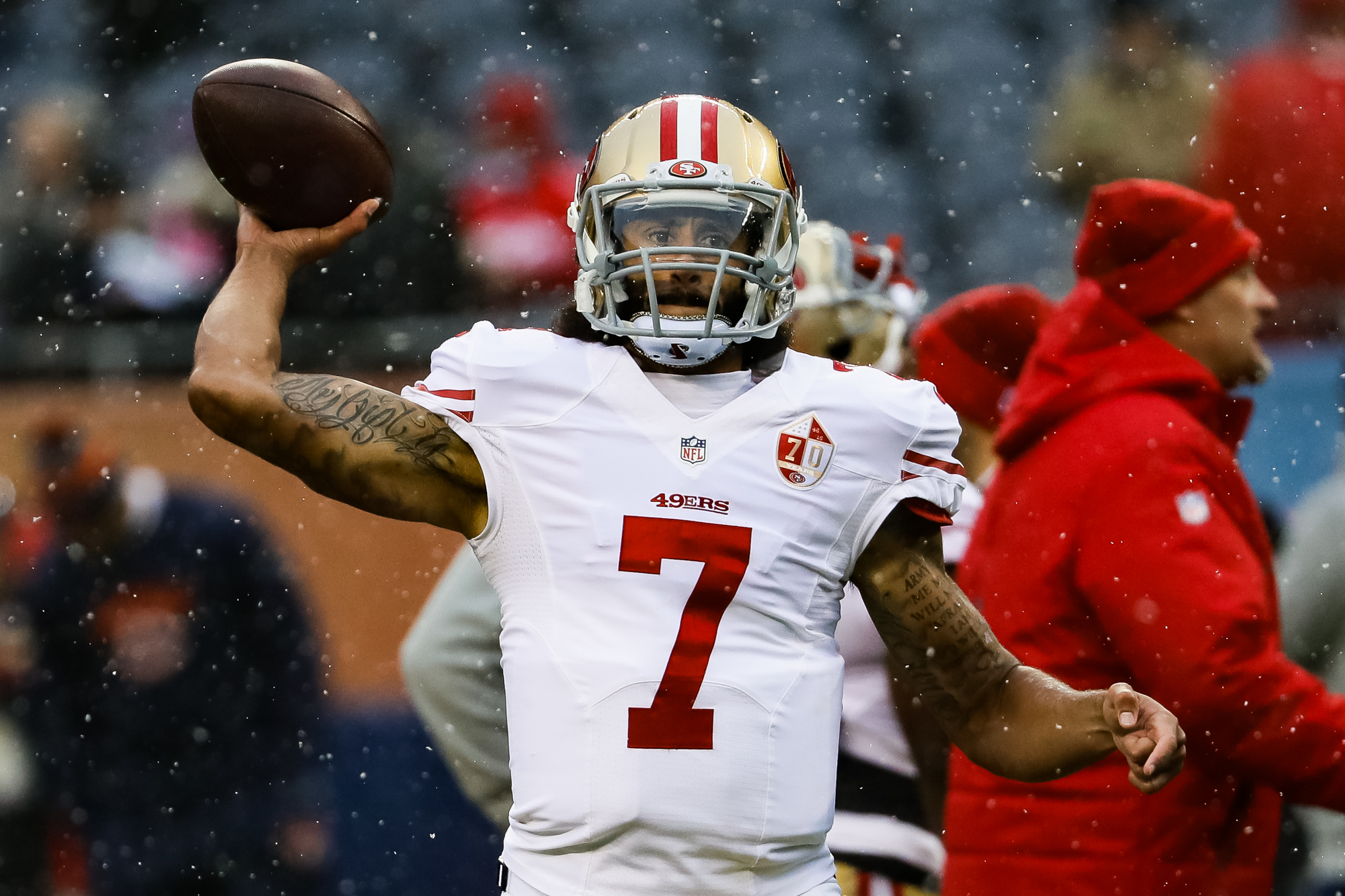 Despite the unusual circumstances, Colin Kaepernick intends to take advantage of his workout for NFL scouts on Saturday.