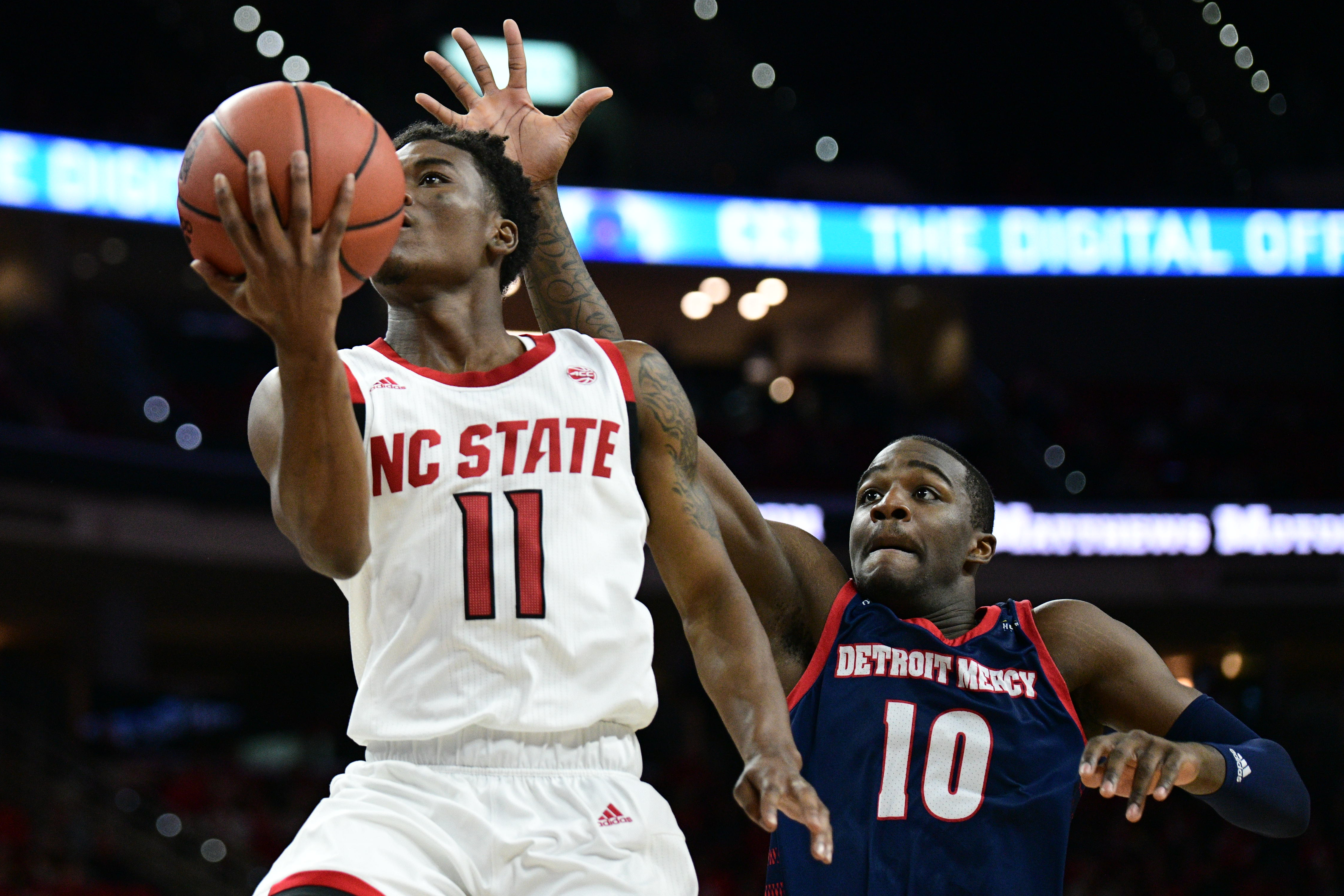 COLLEGE BASKETBALL: NOV 10 Detroit at NC State