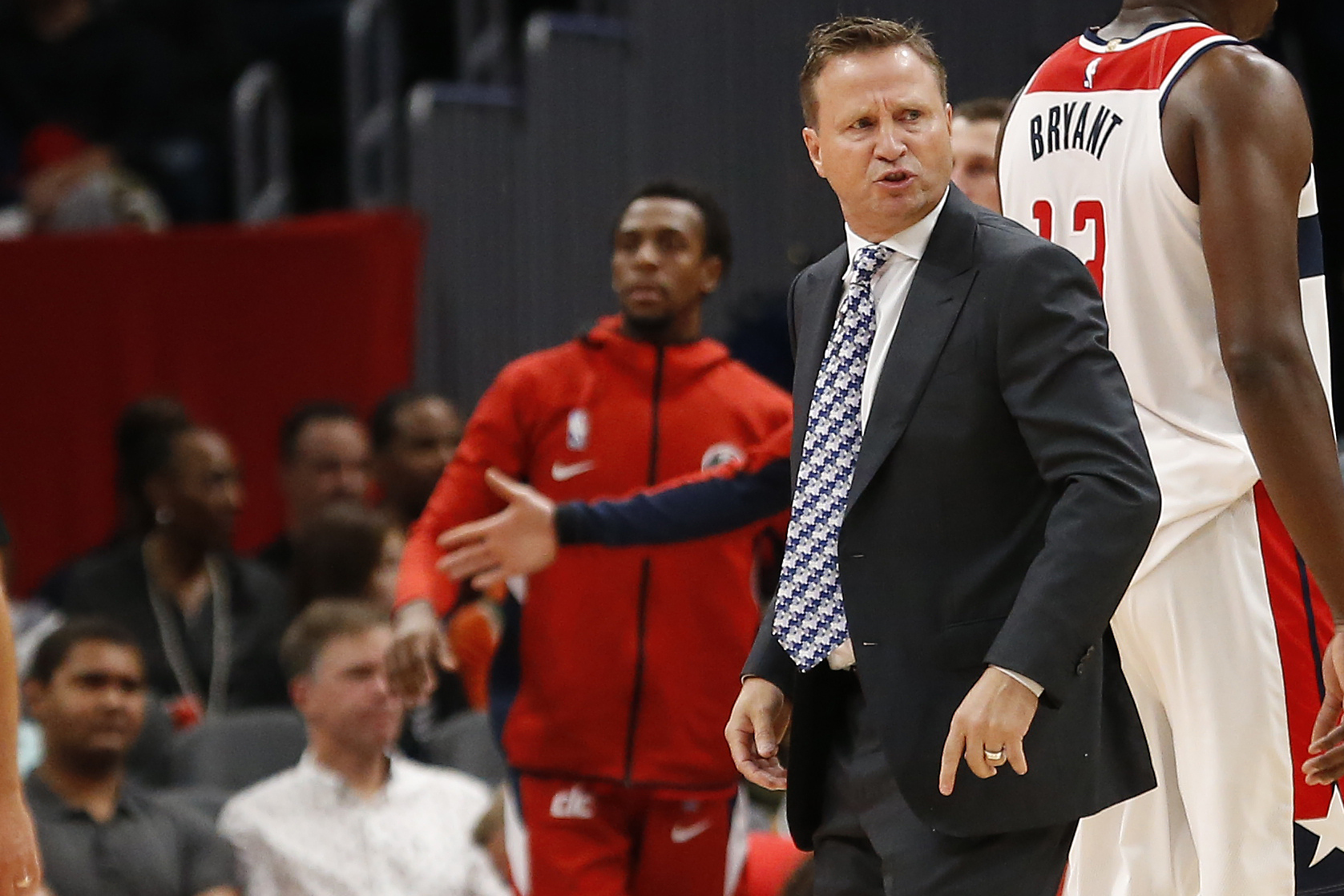 NBA: Preseason-Milwaukee Bucks at Washington Wizards