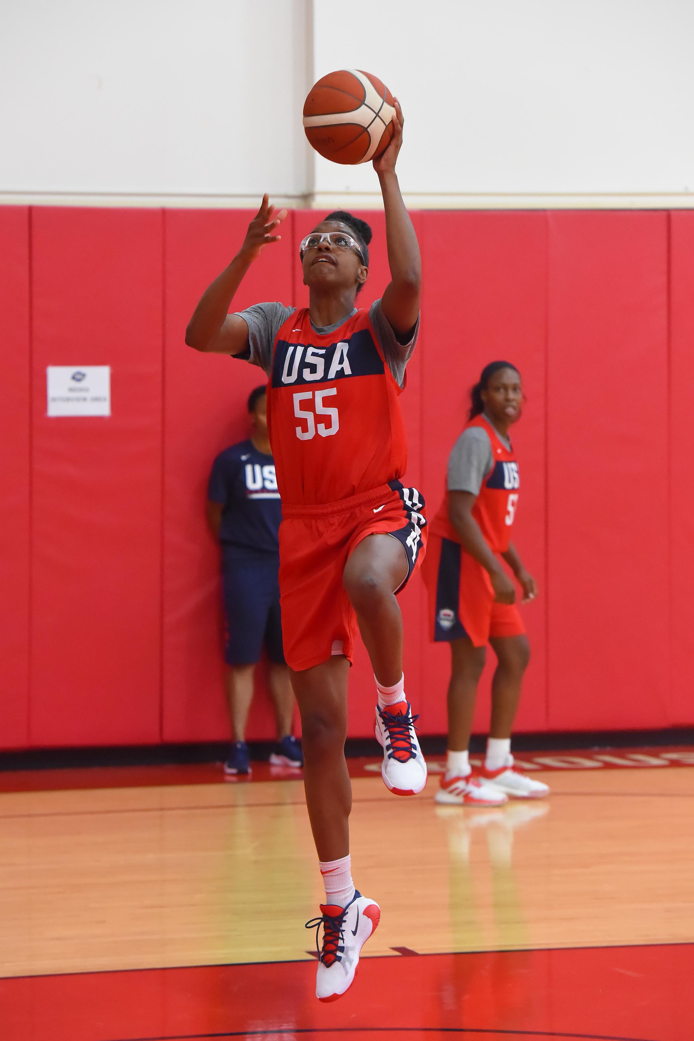 USA Women's National Team Practice