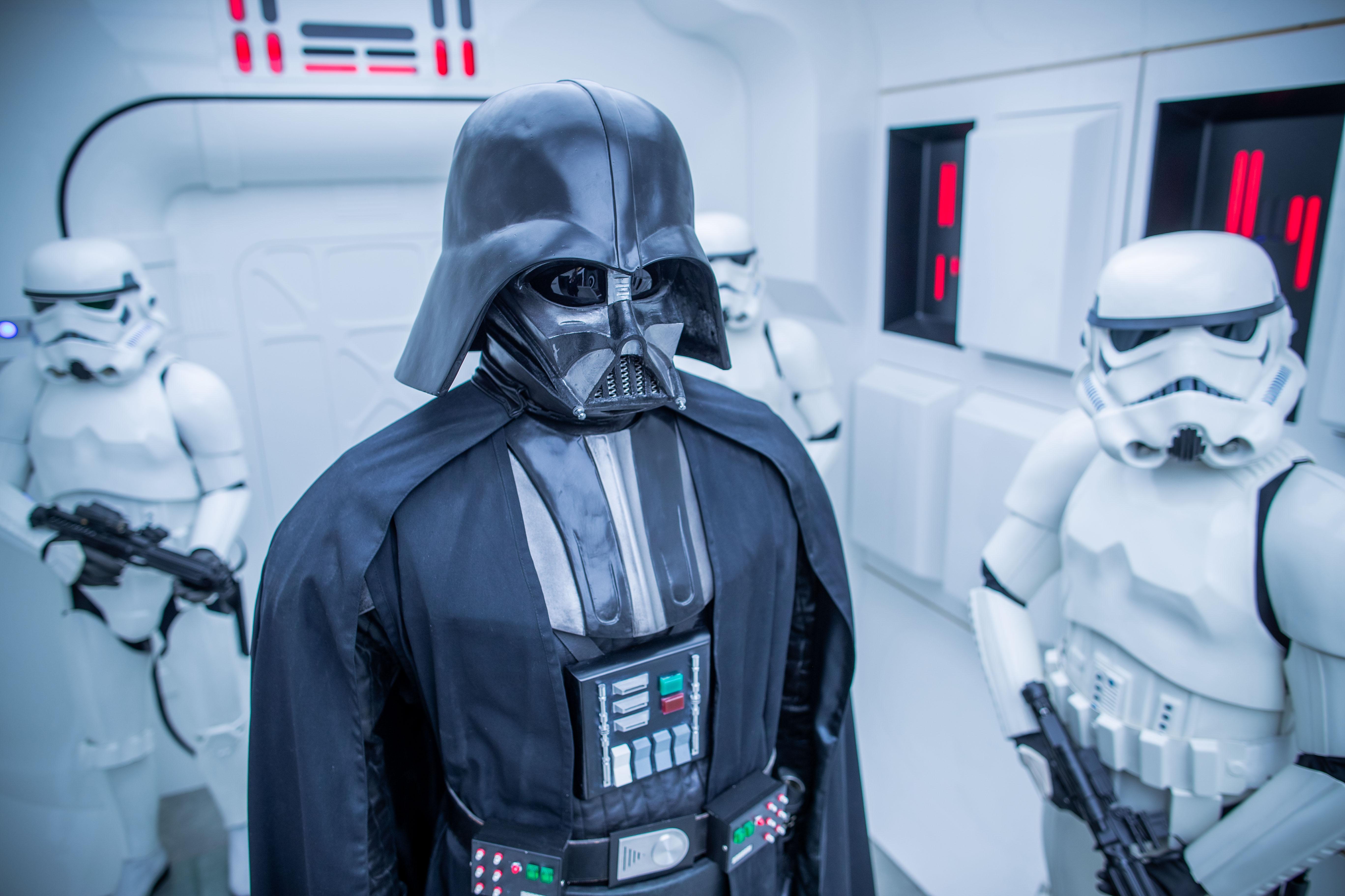 """New spaceship in """"Star Wars"""" exhibition"""