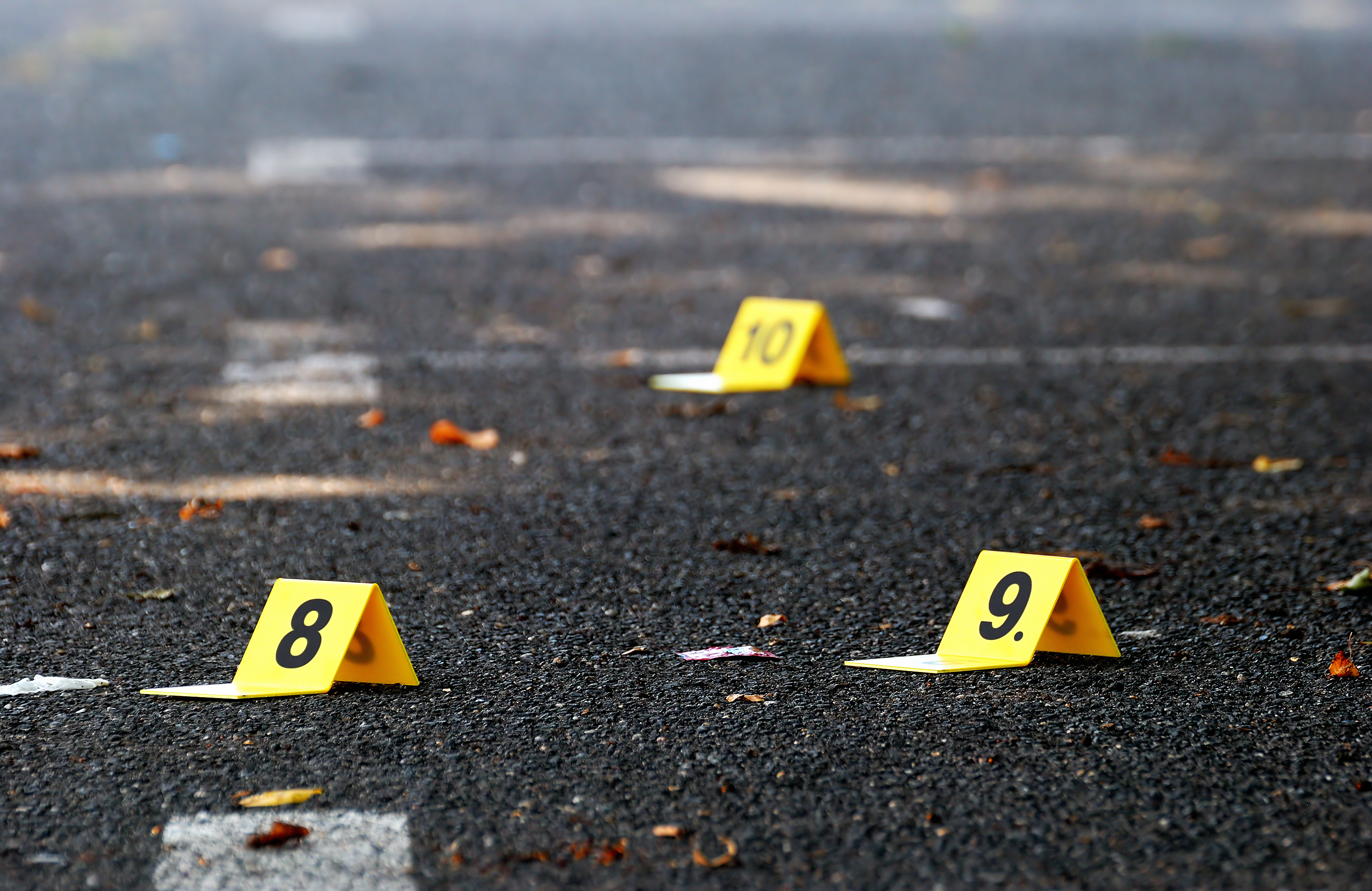A 24-year-old woman was shot in the shoulder in Marquette Park Nov. 17, 2019.