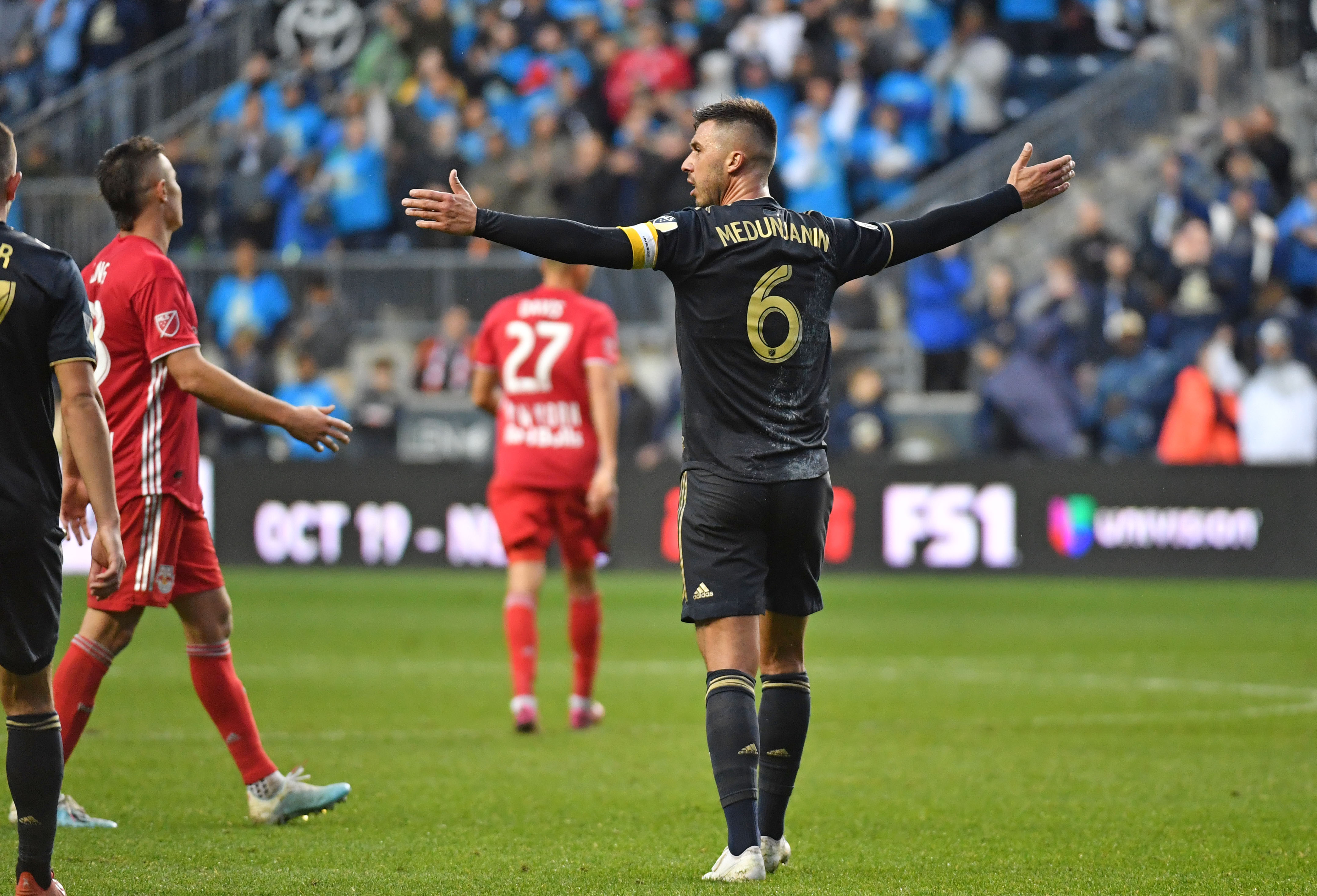 MLS: MLS Cup Playoffs-Round One-New York Red Bulls at Philadelphia Union