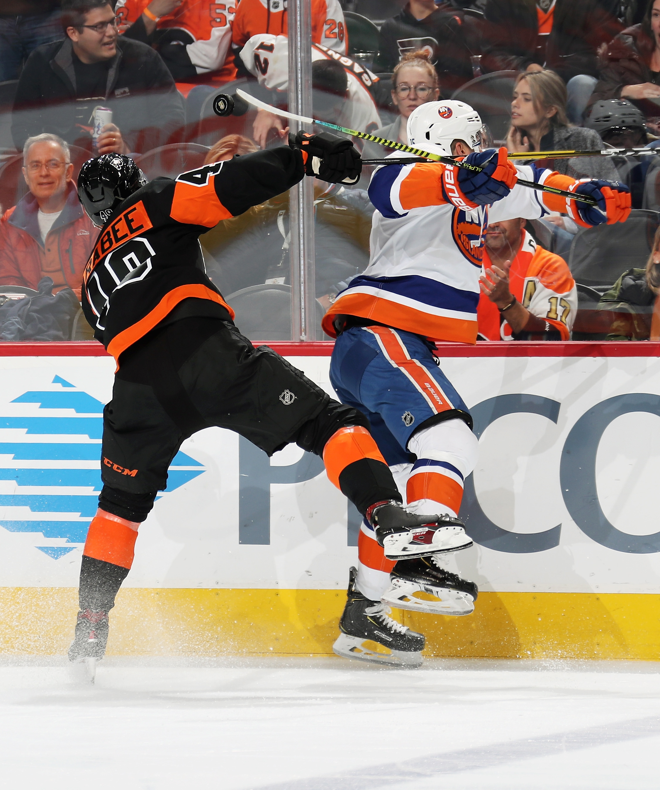 New York Islanders v Philadelphia Flyers