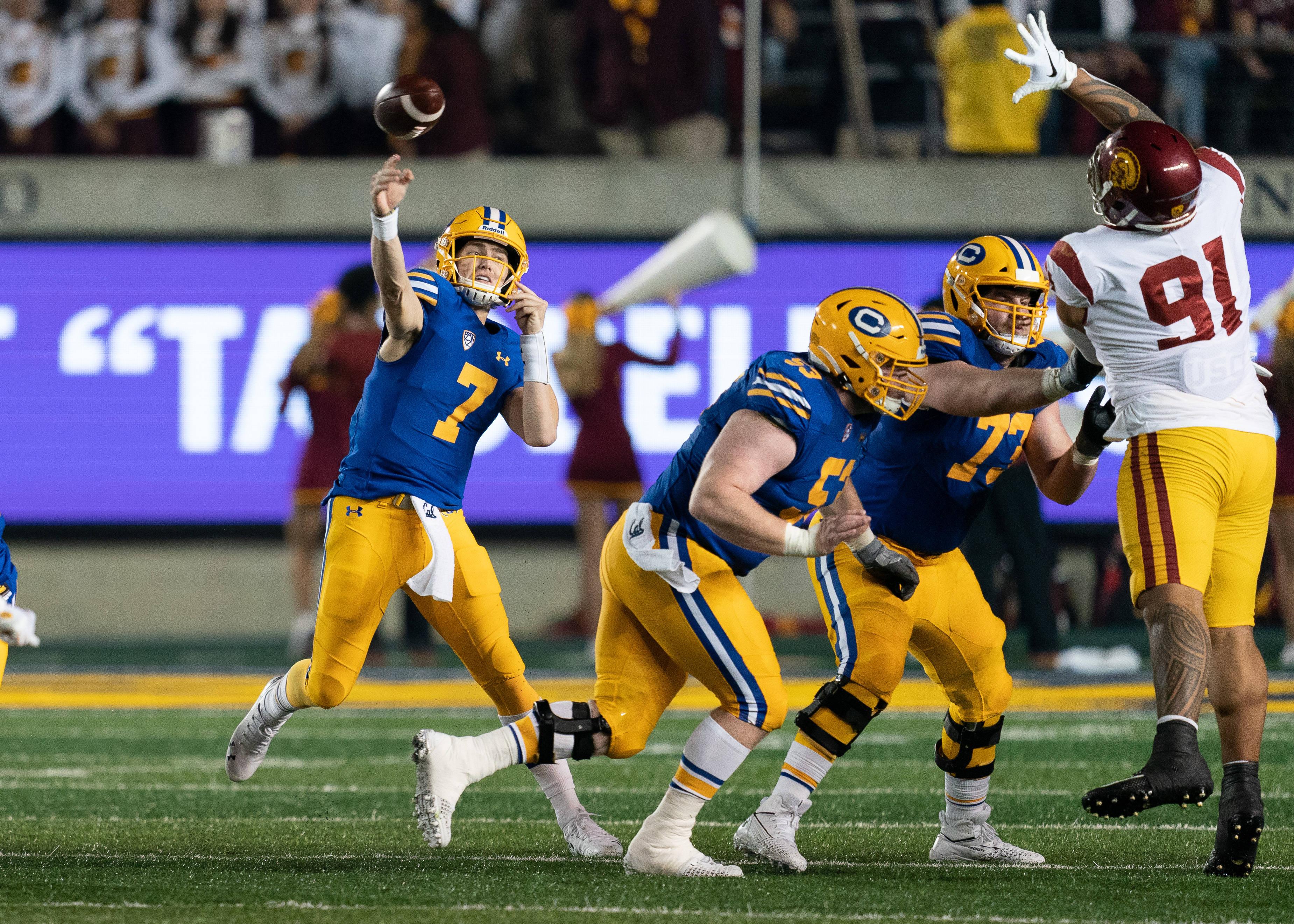 NCAA Football: Southern California at California
