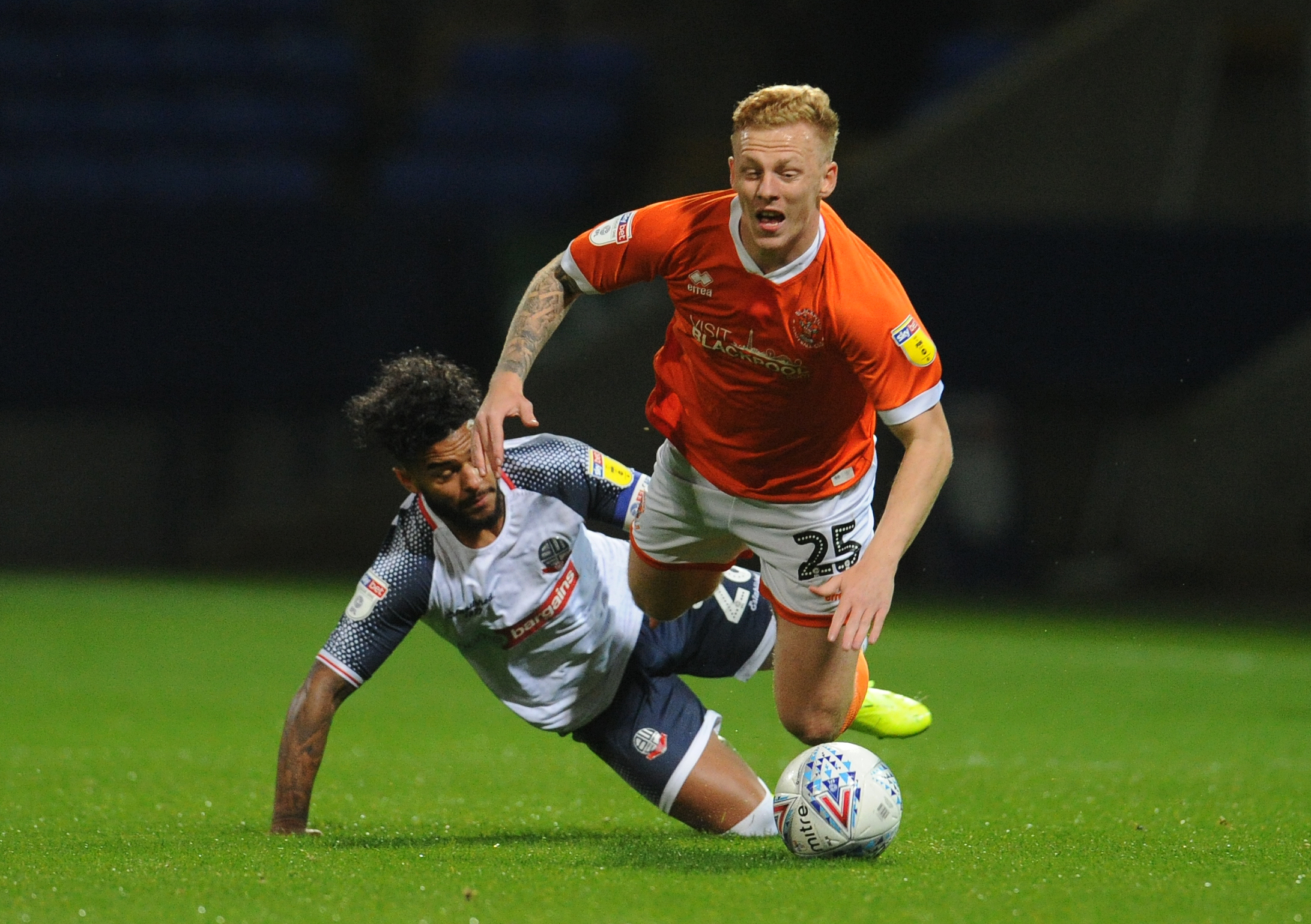 Bolton Wanderers v Blackpool - Sky Bet League One