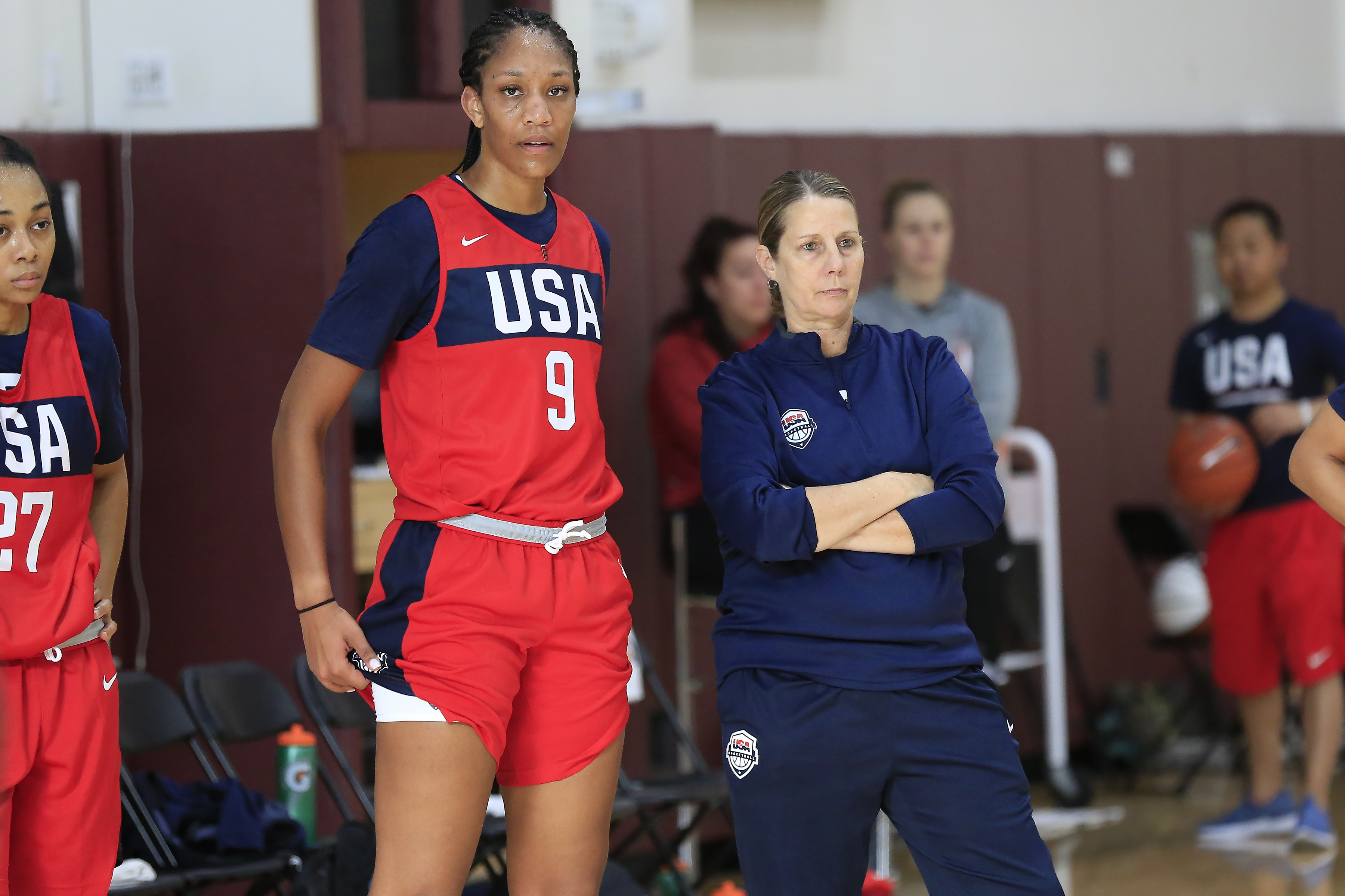 2019 USA Women's National Team Practice
