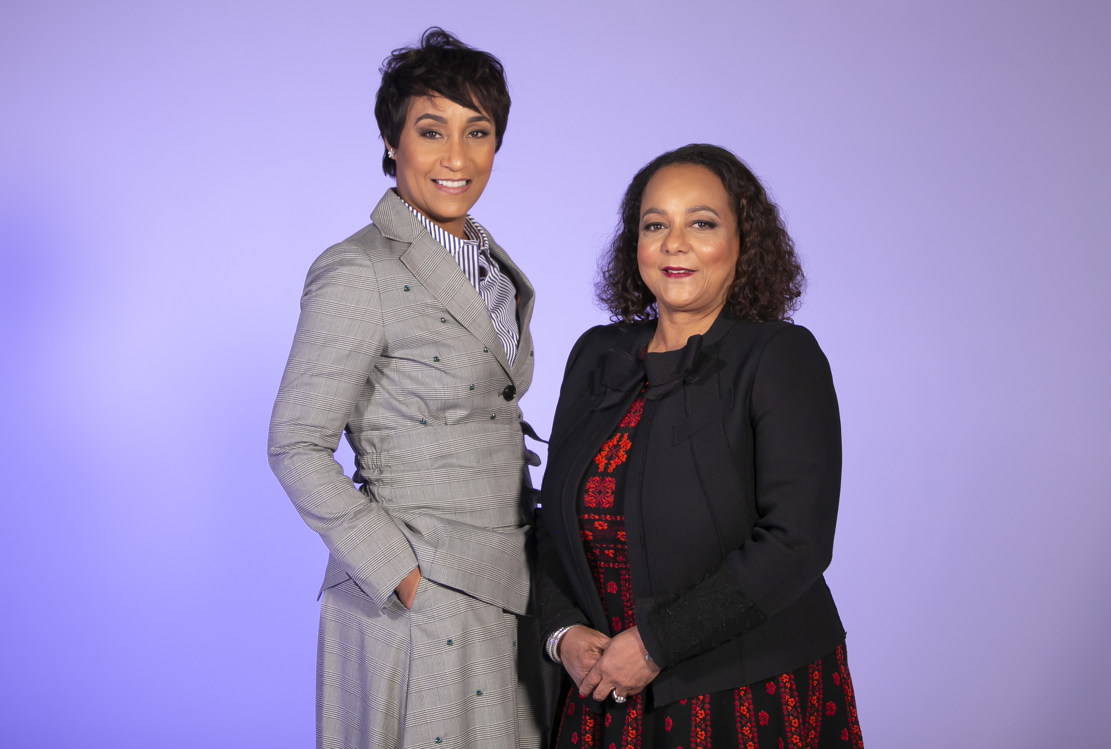 """Desiree Rogers and Cheryl Mayberry McKissack say they're receiving overwhelming support for their new business venture. """"They want us to be successful. There are a lot of people that are rooting for us,"""" said McKissack."""