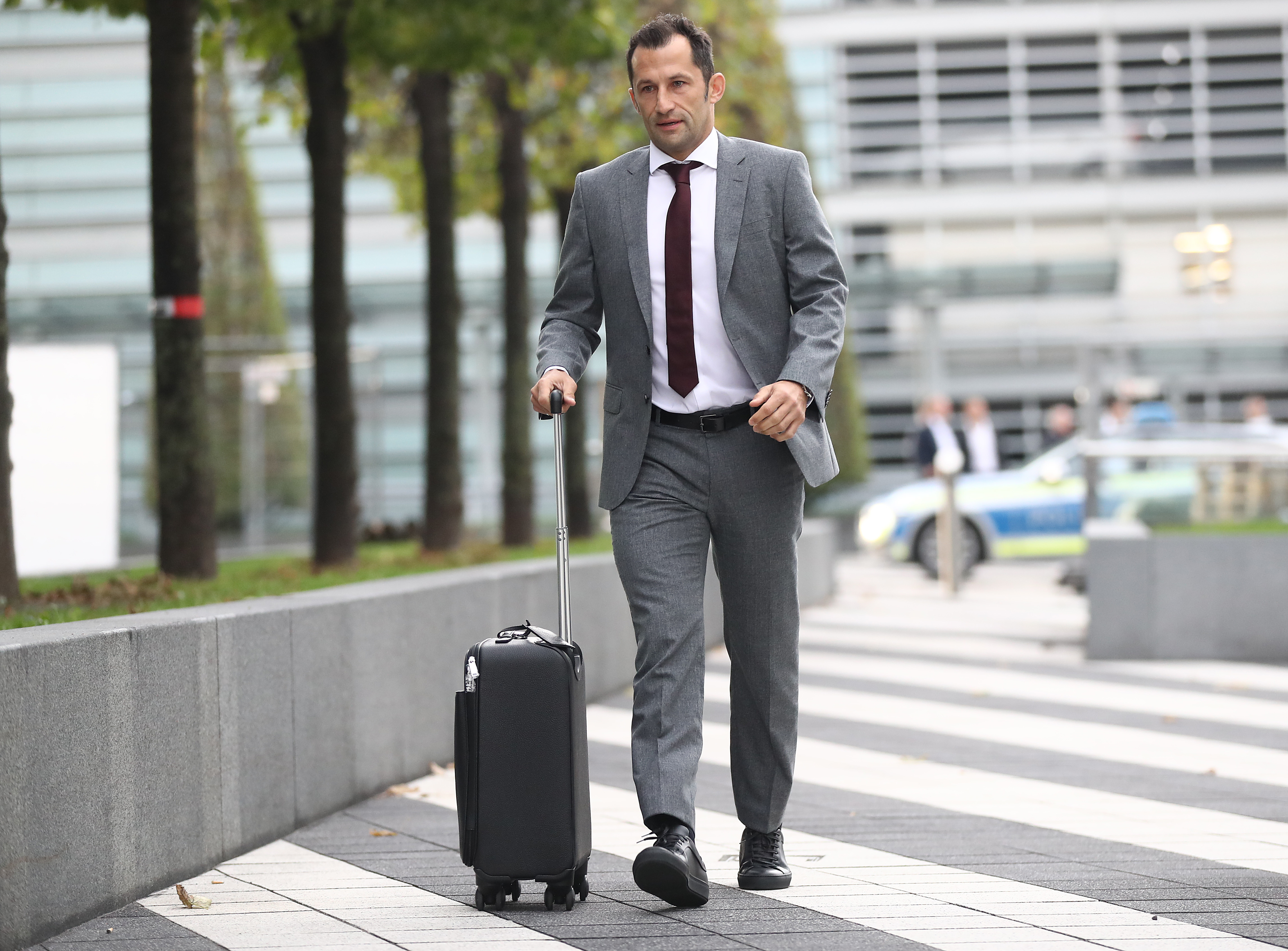 FC Bayern Muenchen Departs To Athens