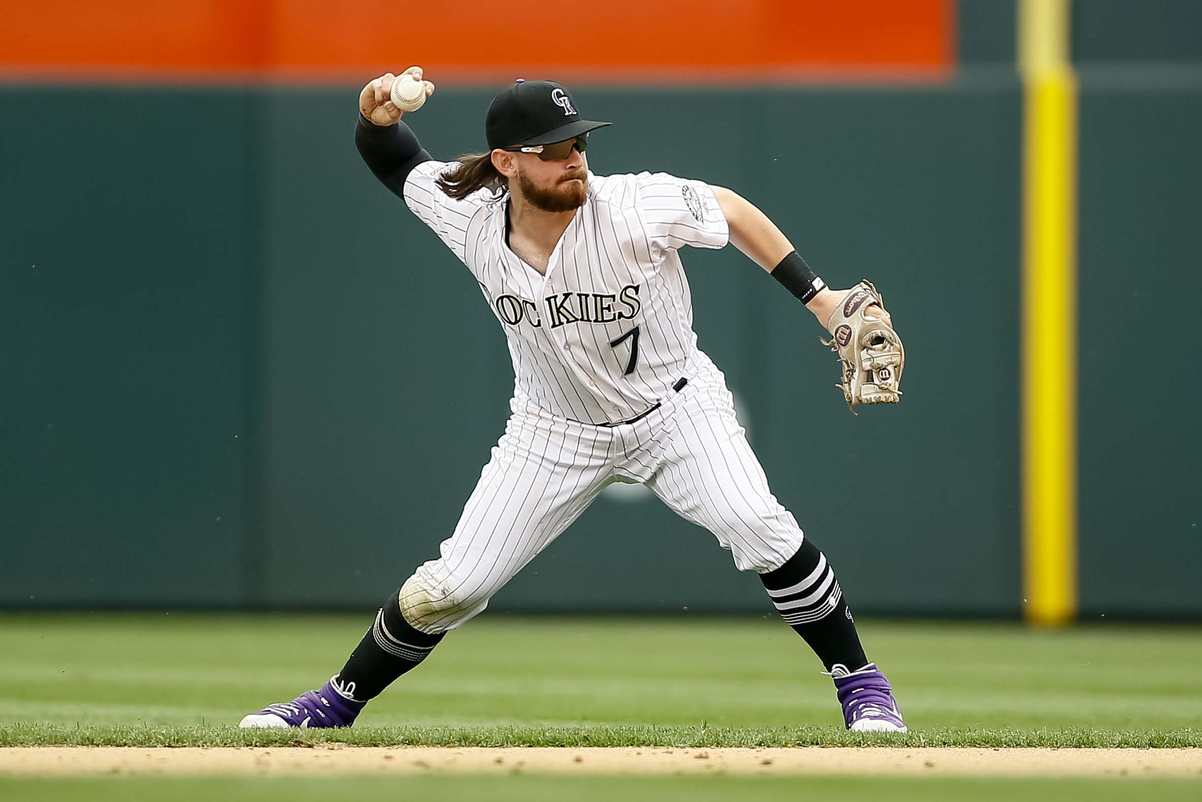 MLB: Baltimore Orioles at Colorado Rockies