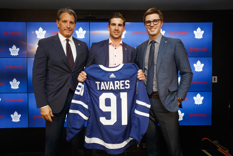 Toronto Maple Leafs Introduce John Tavares
