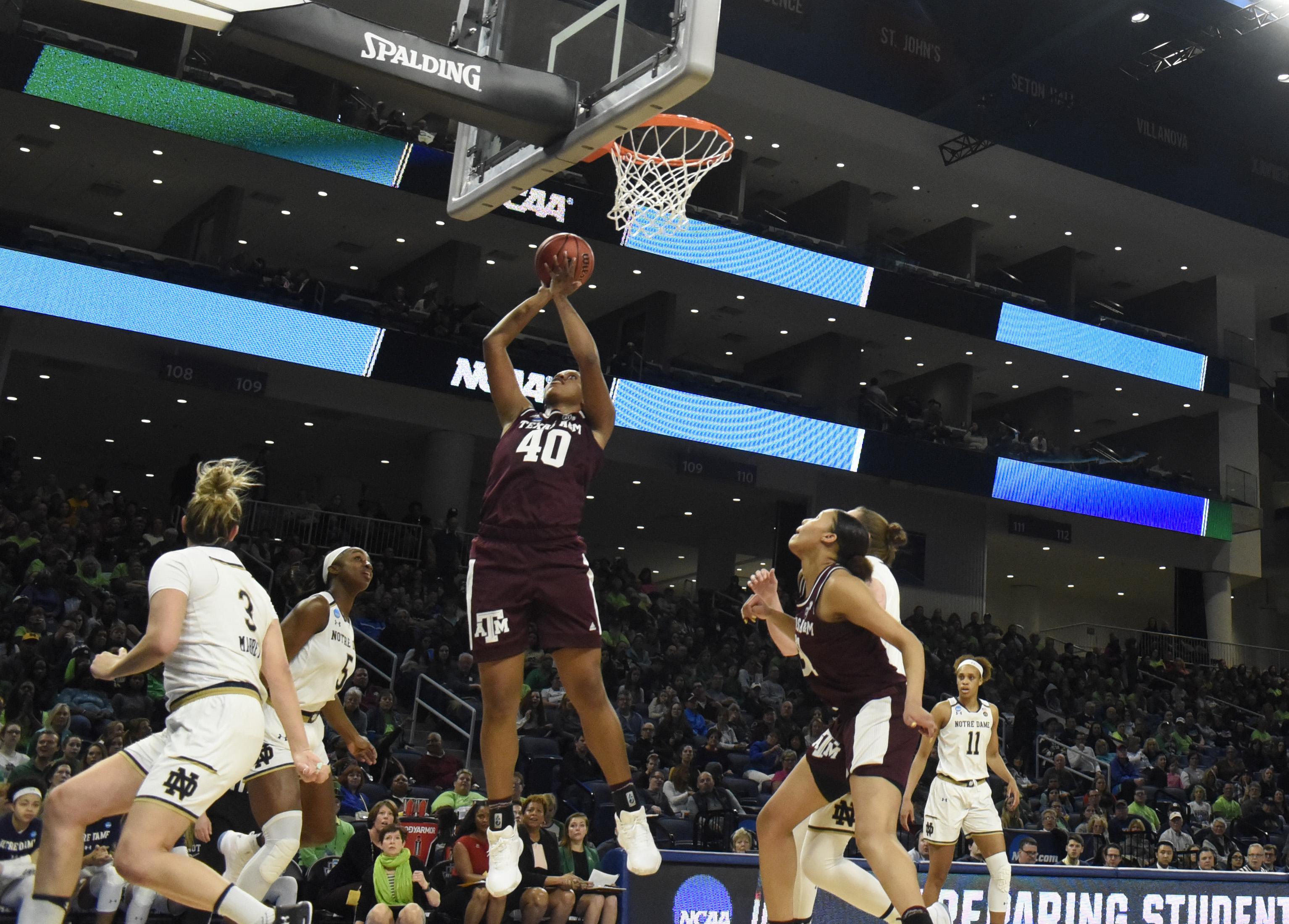 NCAA Womens Basketball: NCAA Tournament-Chicago Regional-Notre Dame vs Texas A&M