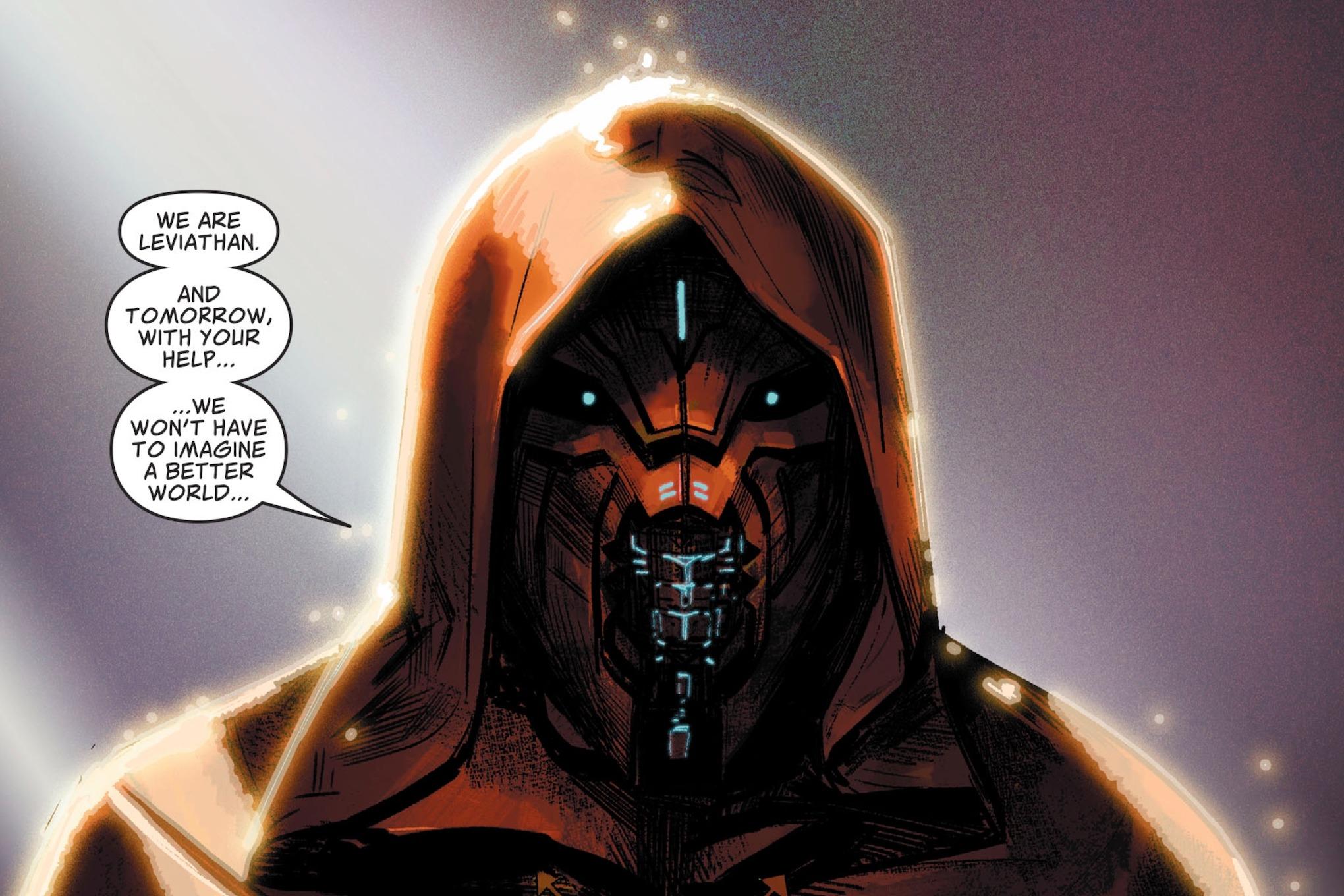 DC finally revealed Leviathan, Superman's apocalyptic villain