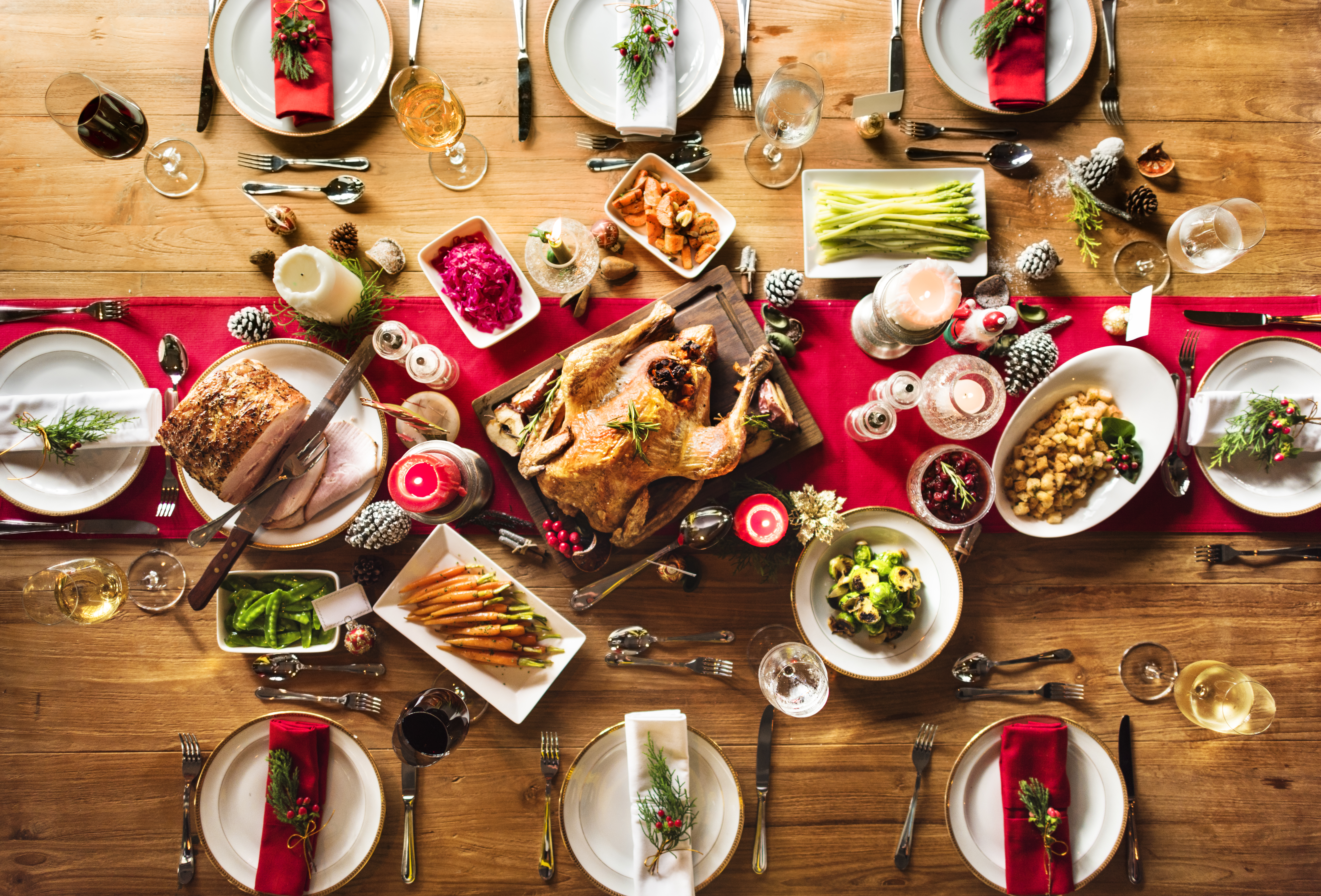 A holiday feast