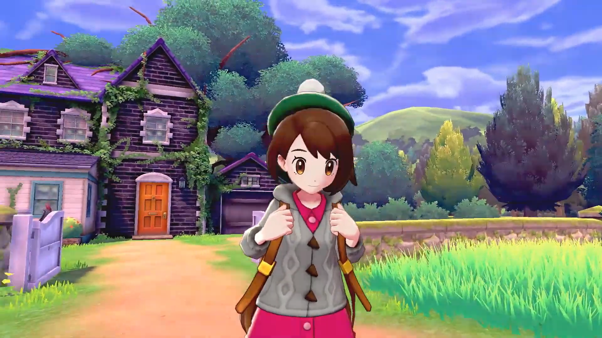 Pokemon Sword and Shield - young woman