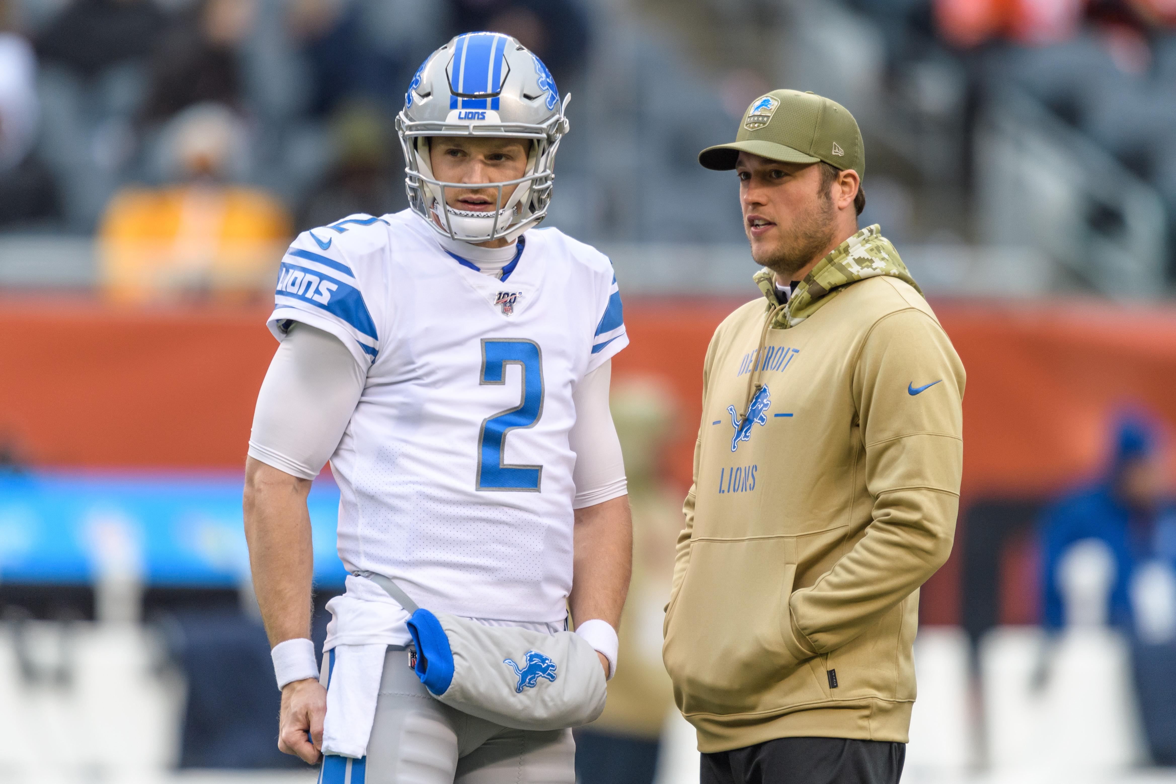 NFL: NOV 10 Lions at Bears