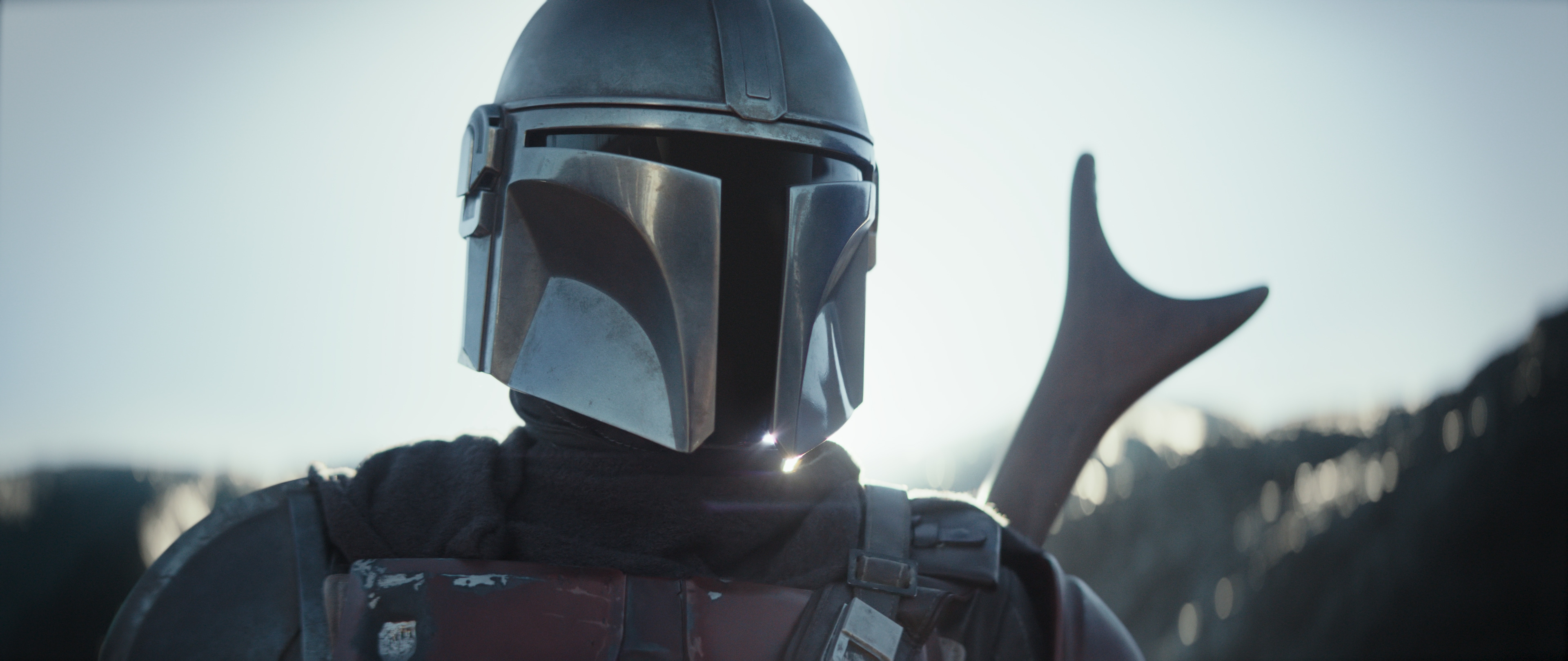 Disney made it official: We can talk about that Mandalorian character now