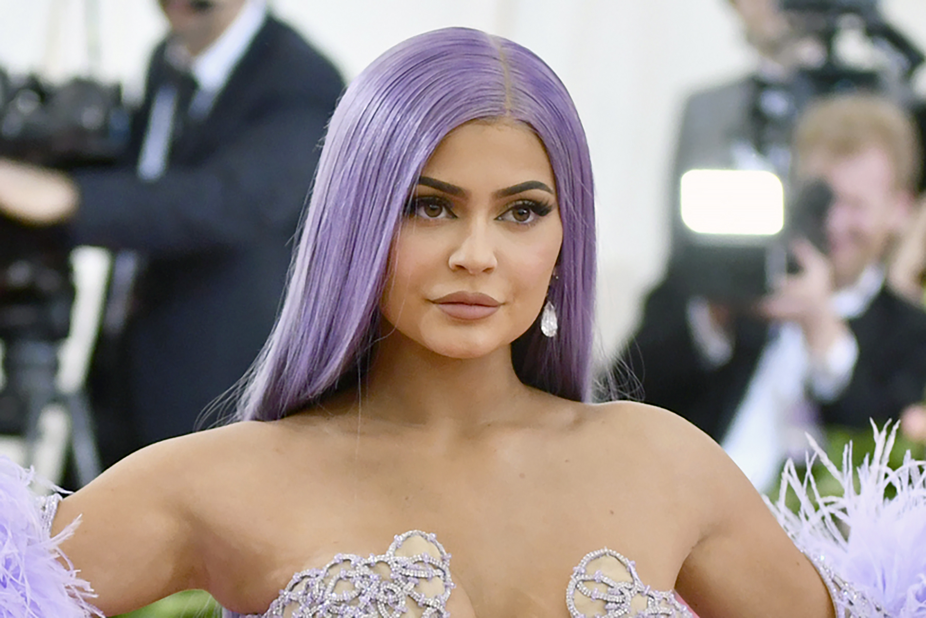 Kylie Jenner attends The Metropolitan Museum of Art's Costume Institute benefit gala in New York earlier this year.