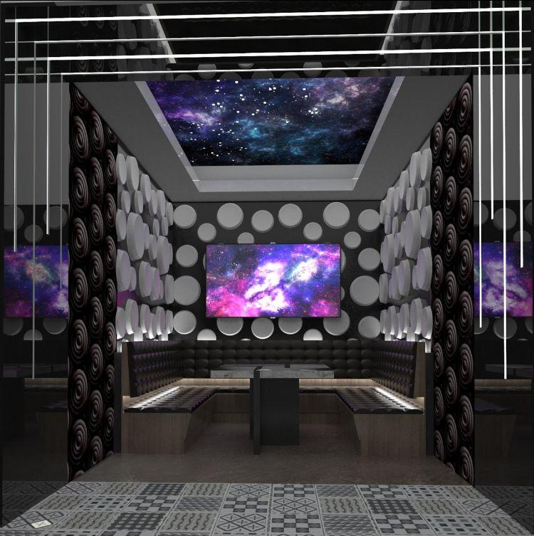 A karaoke room
