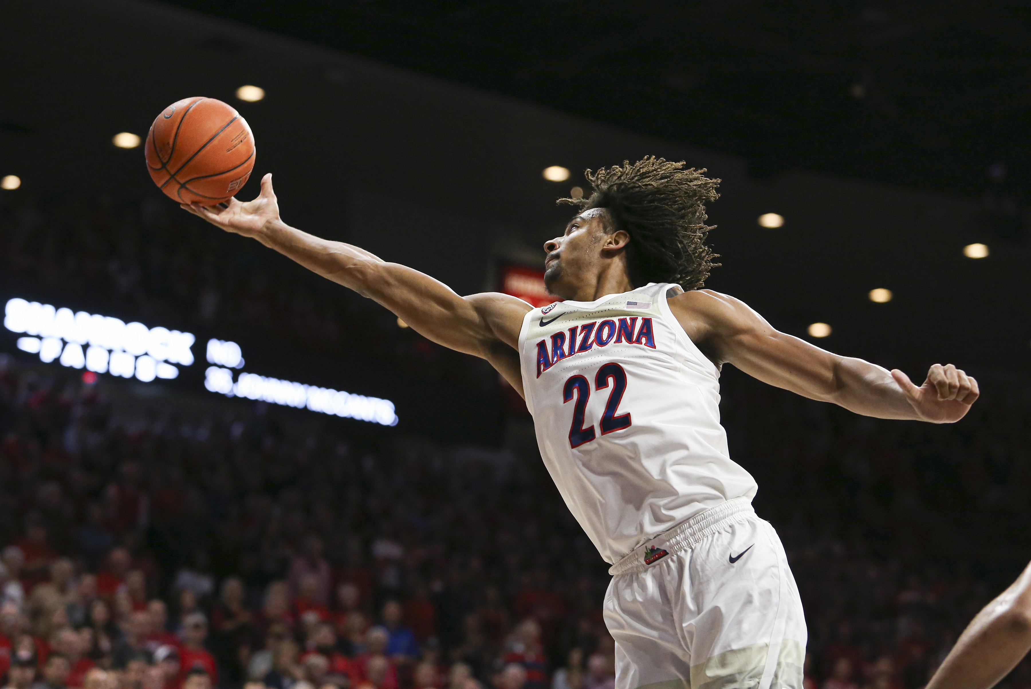 zeke-nnaji-arizona-wildcats-pac12-freshman-award-weekly-basketball-2019