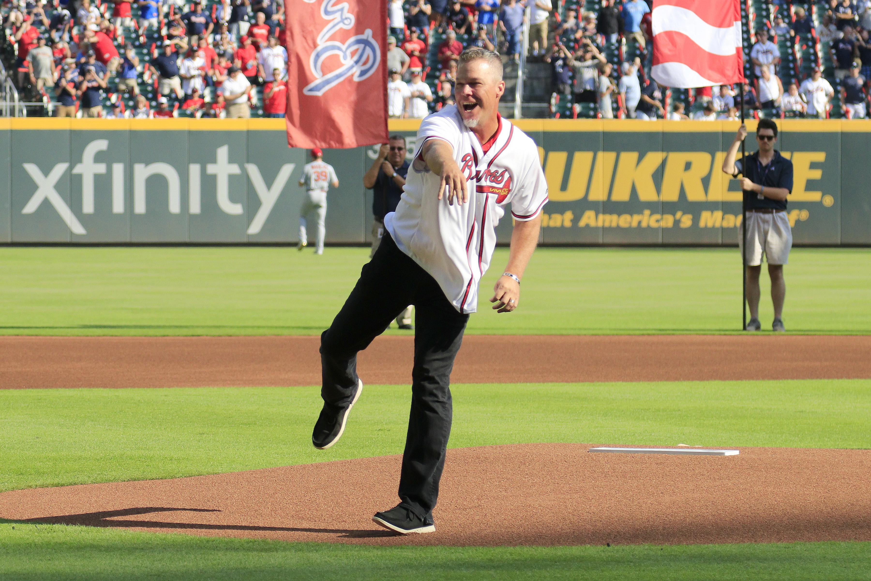 MLB: OCT 03 NLDS - Cardinals at Braves
