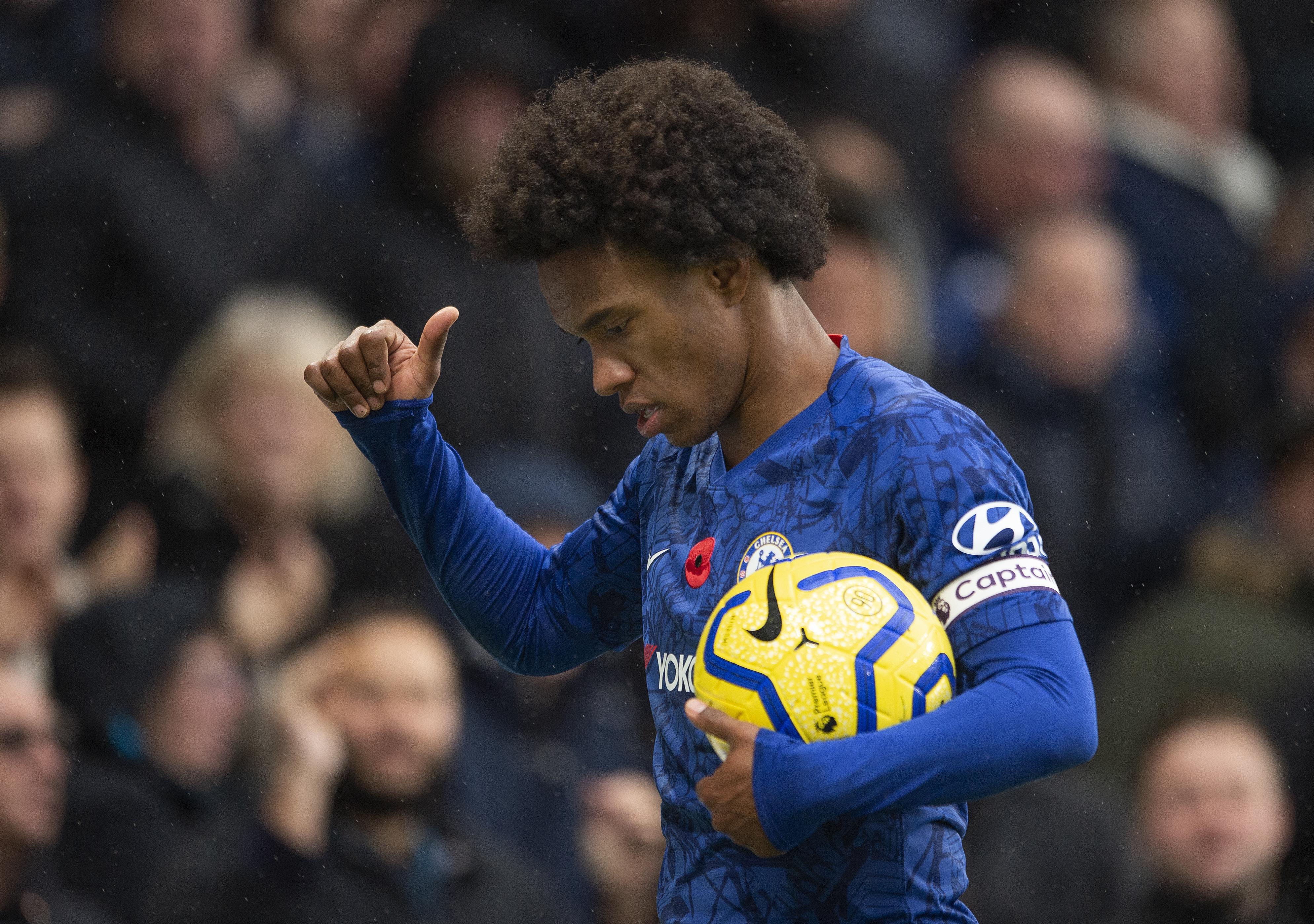Chelsea, Willian 'in talks' over contract extension — report