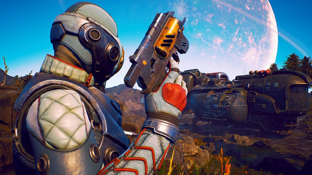 The Outer Worlds' text gets bigger in new patch