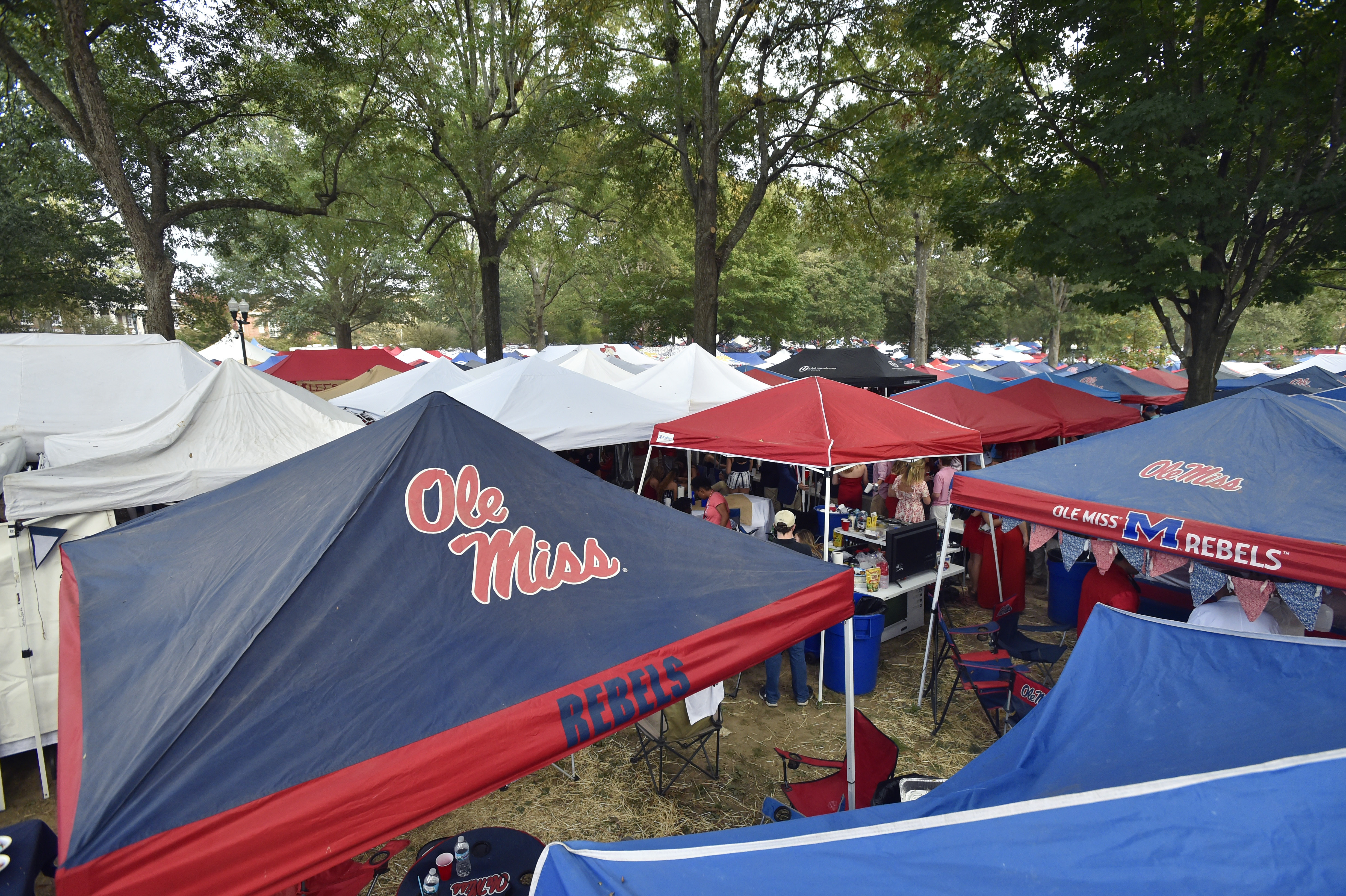 COLLEGE FOOTBALL: OCT 21 LSU at Mississippi