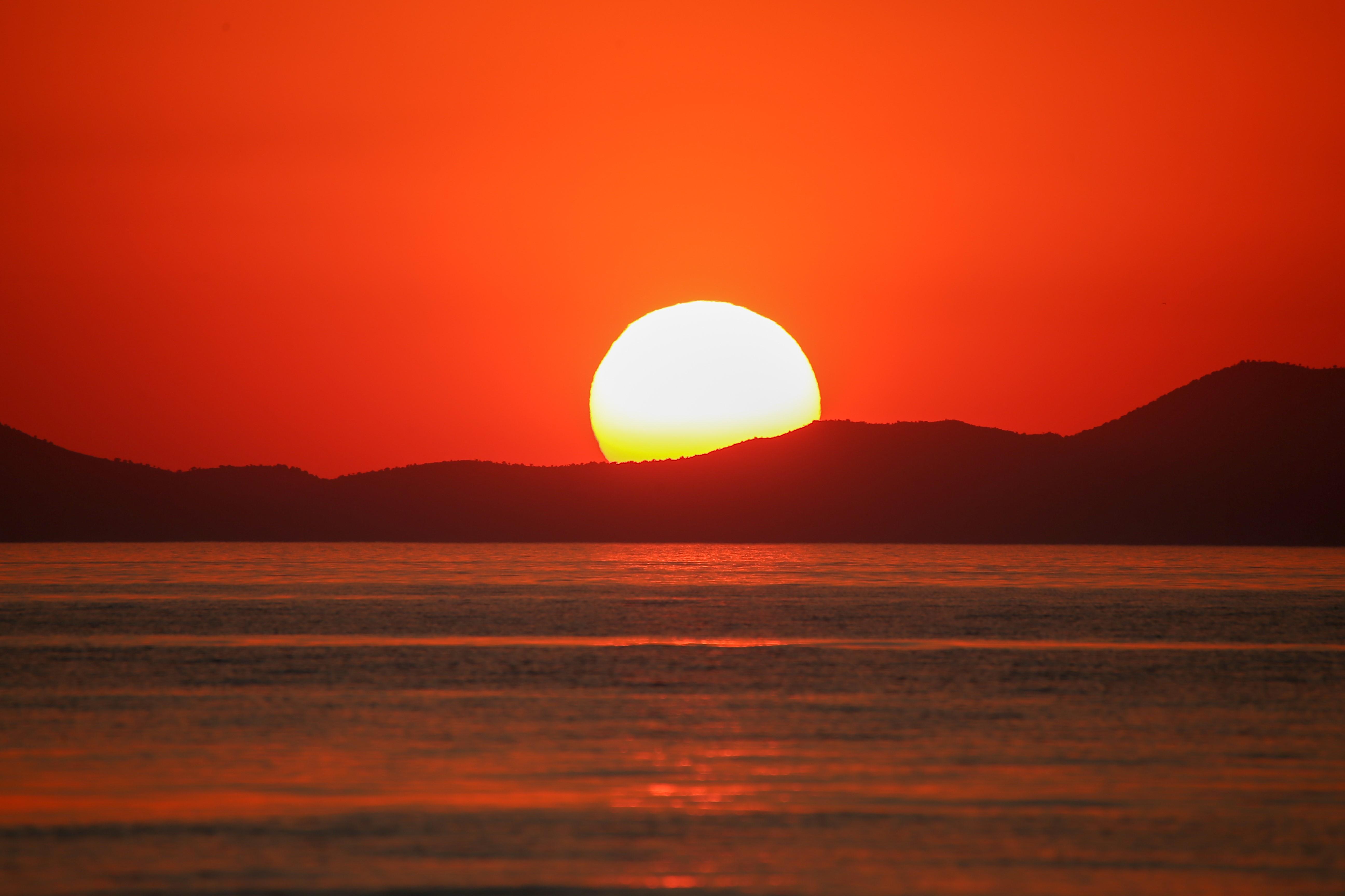 Sunset in Turkey's Van