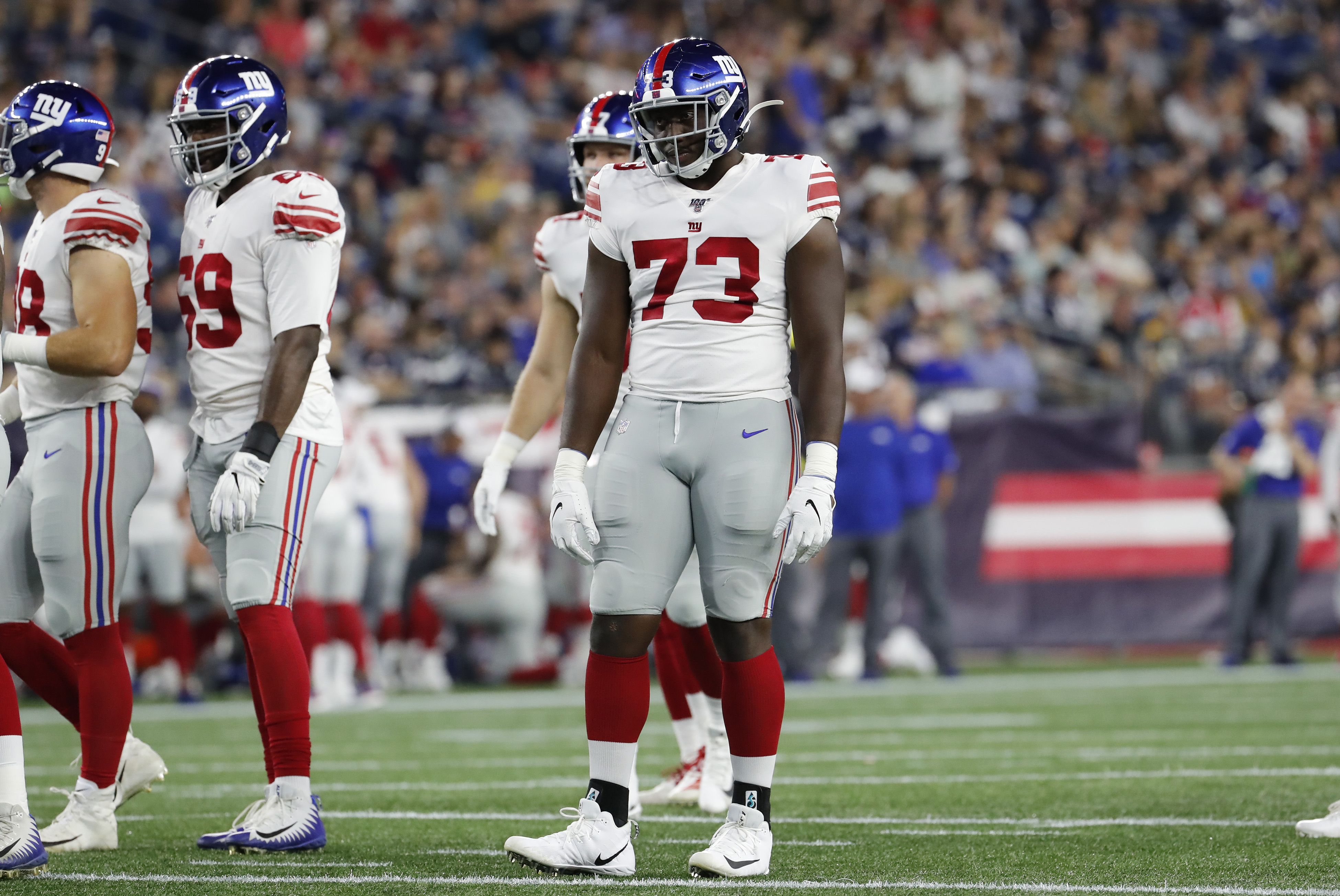 NFL: AUG 29 Preseason - Giants at Patriots