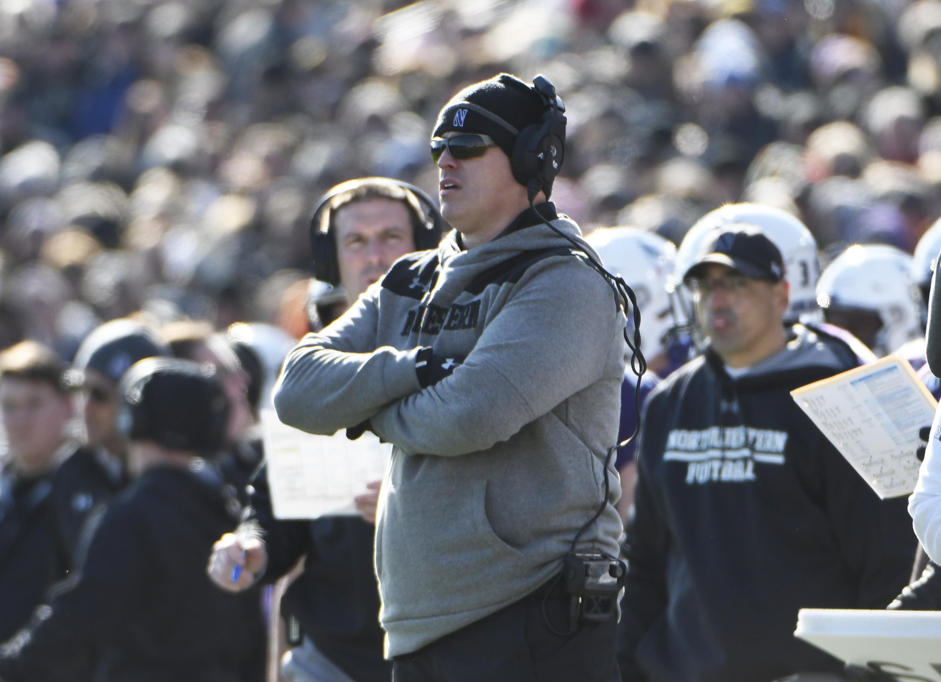 NCAA Football: Purdue at Northwestern