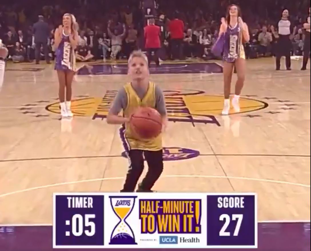 This 10-year-old is the best Lakers' shooter since Jerry West