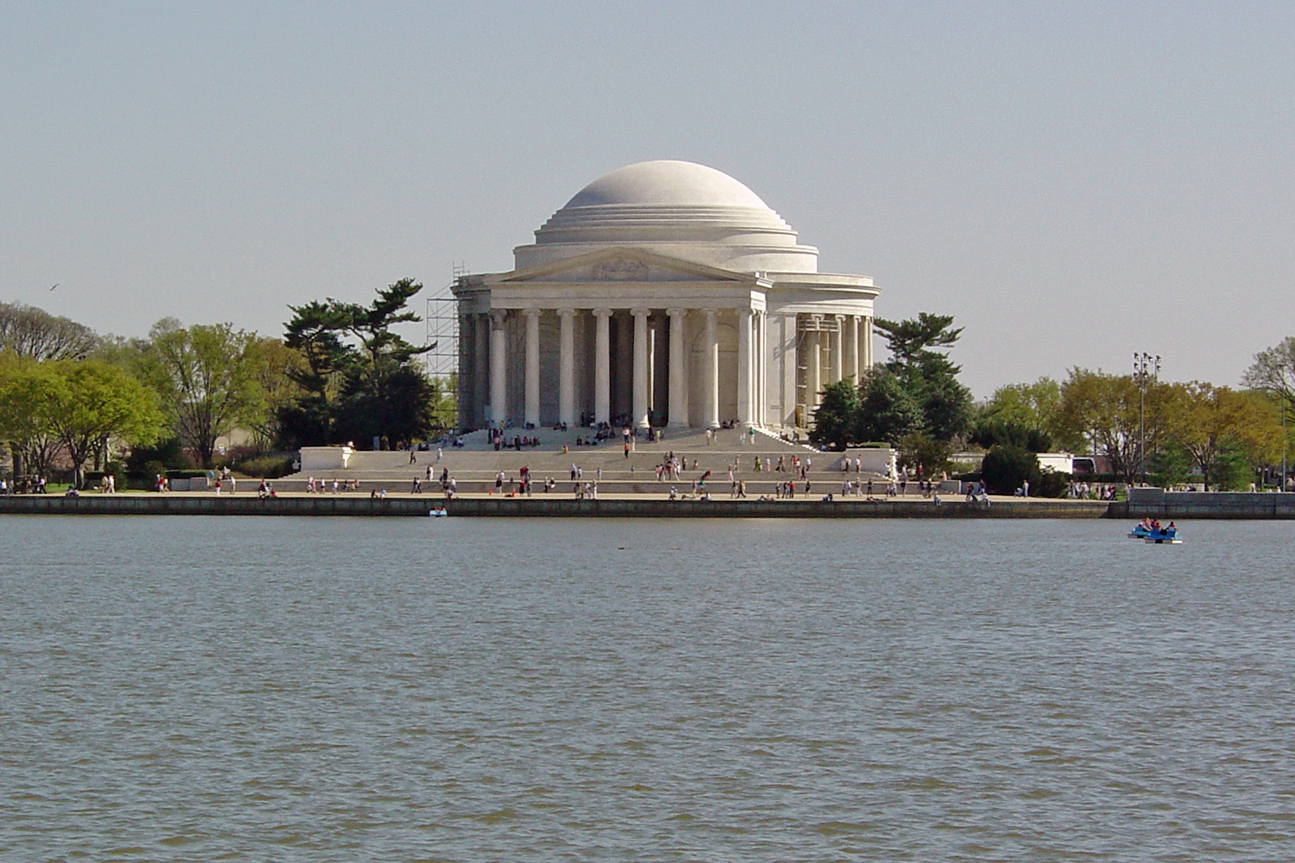The Thomas Jefferson Memorial in Washington, D. C.